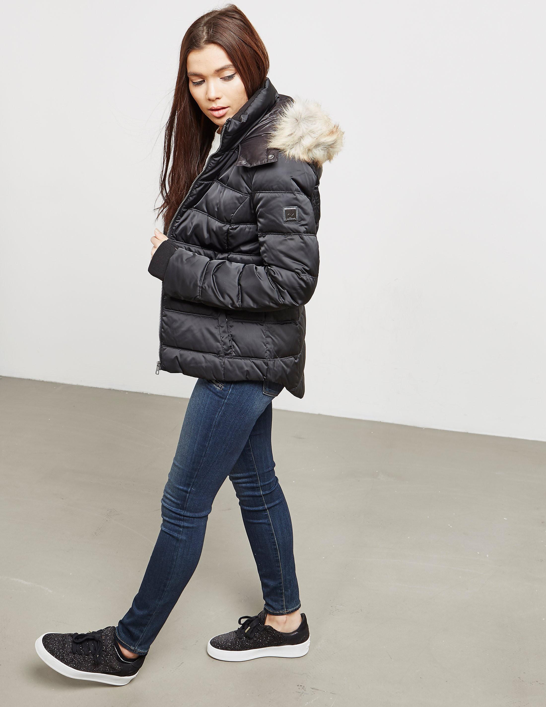 Calvin Klein Ovidia Hooded Padded Jacket