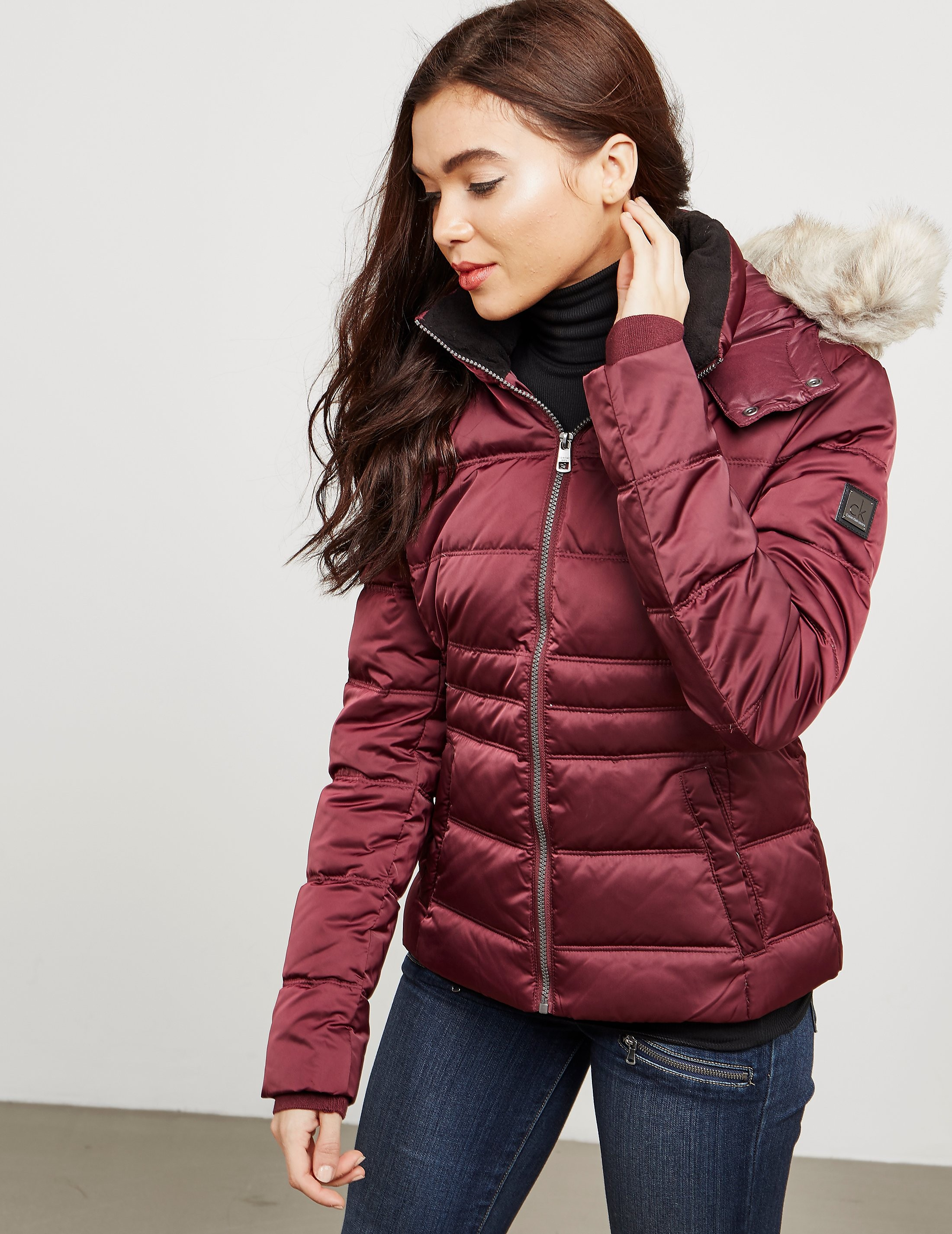 Calvin Klein Ovidia Hooded Padded Jacket