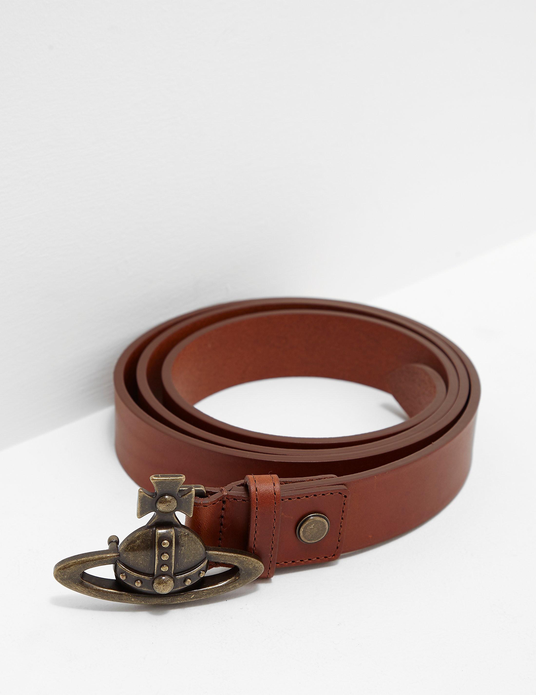 Vivienne Westwood Orb Buckle Belt