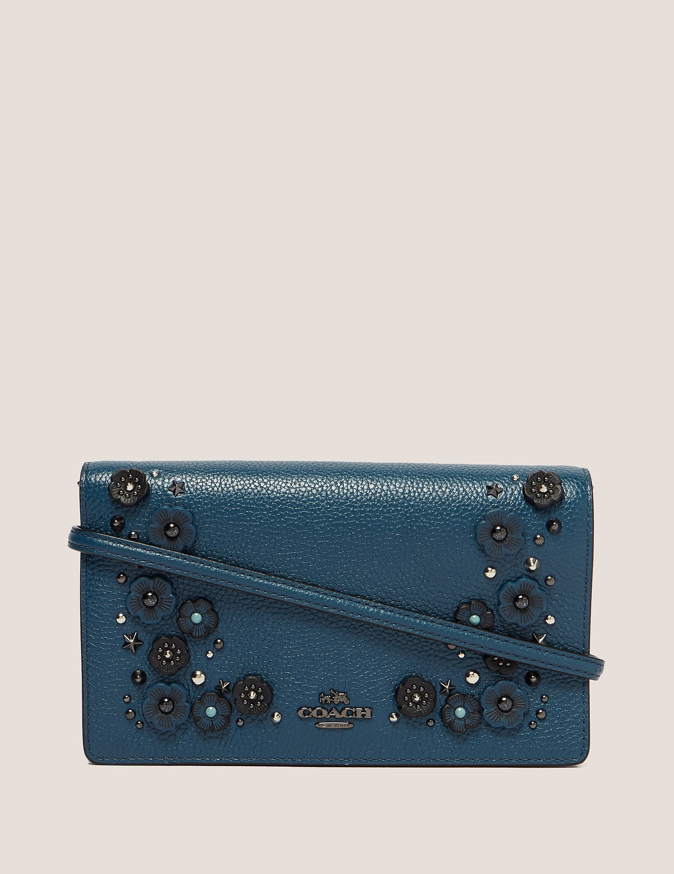 COACH Floral Crossbody Clutch