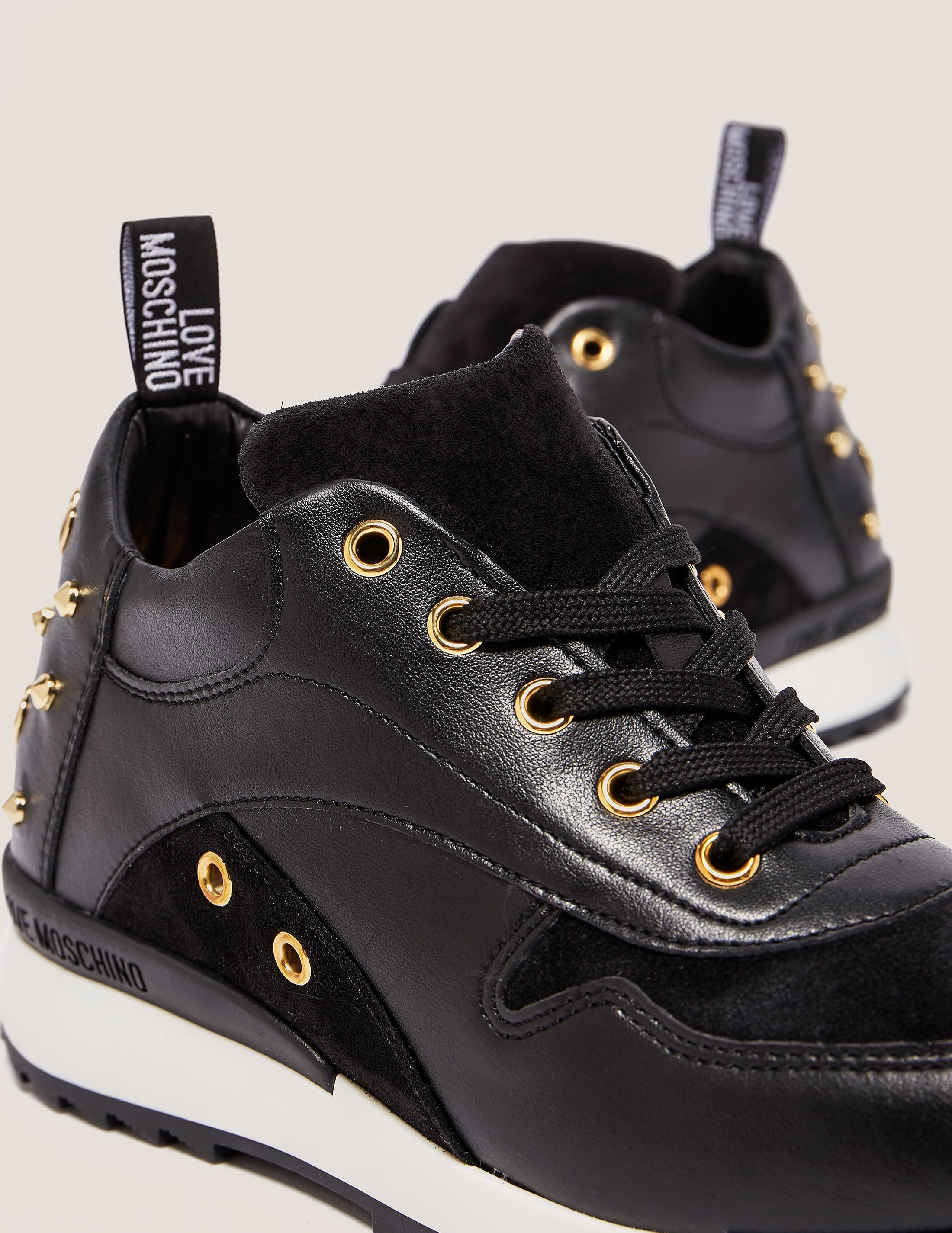 Love Moschino Stud Trainers