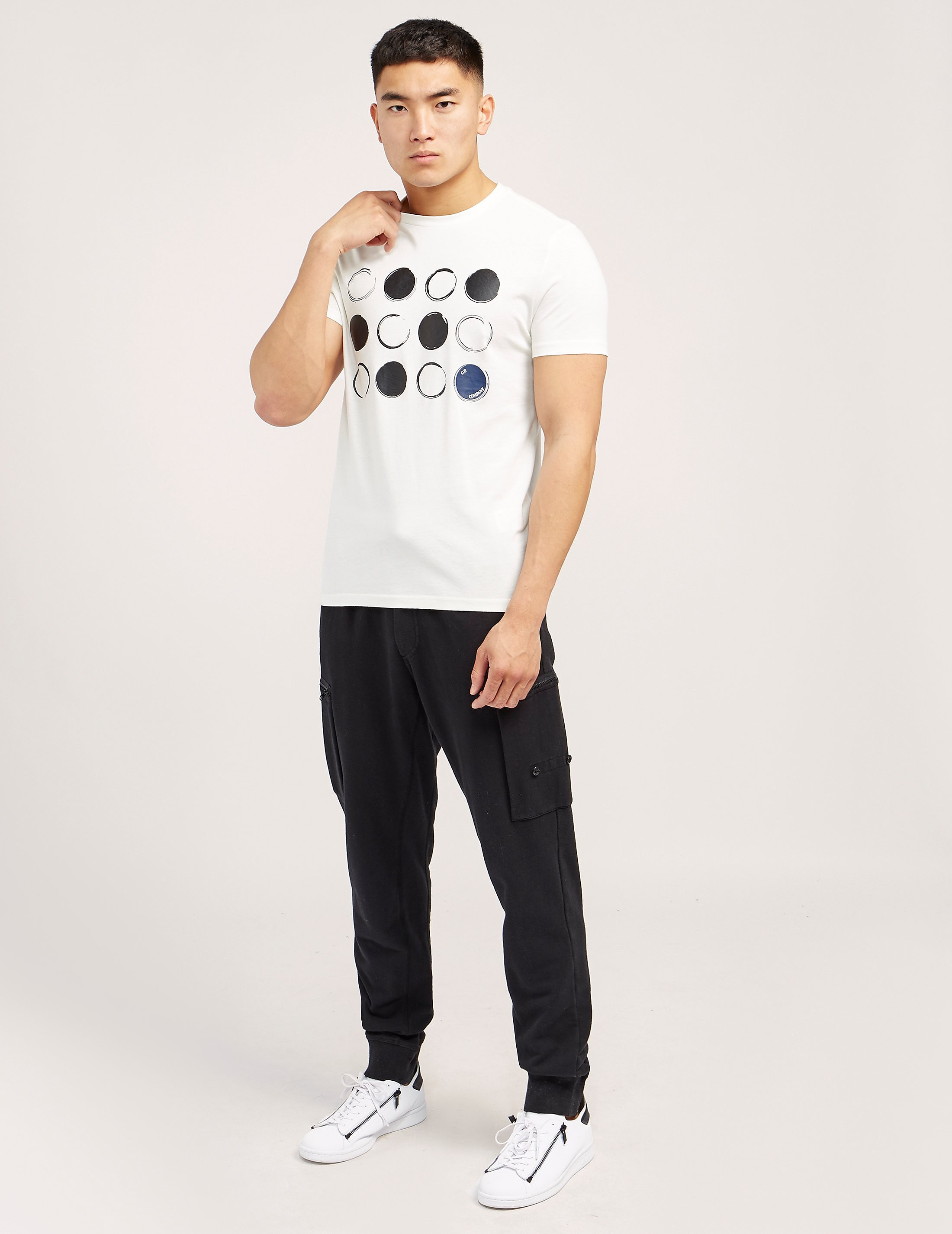 CP Company Dot Print Short Sleeve T-Shirt