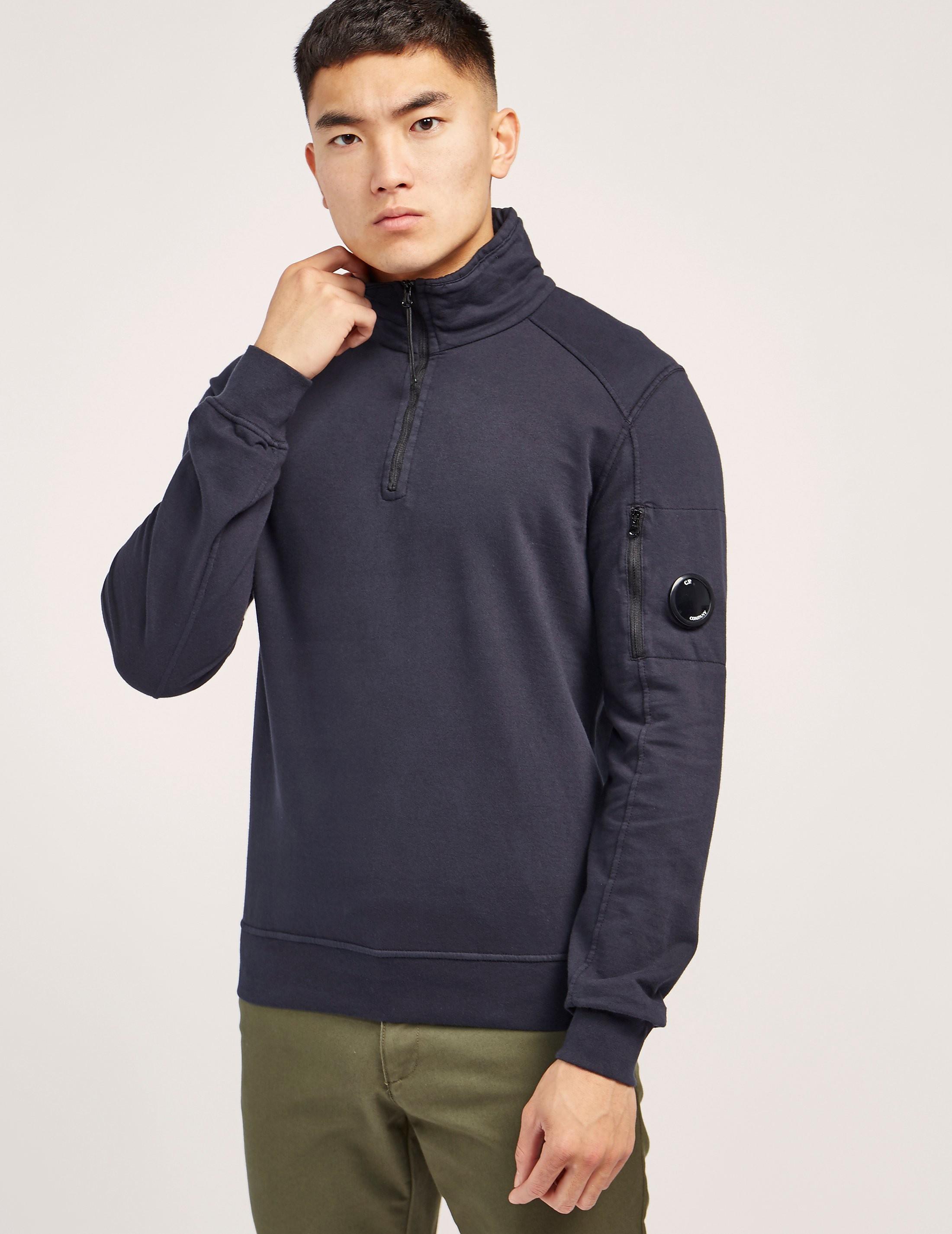 CP Company 1/2 Zip Lens Sweatshirt