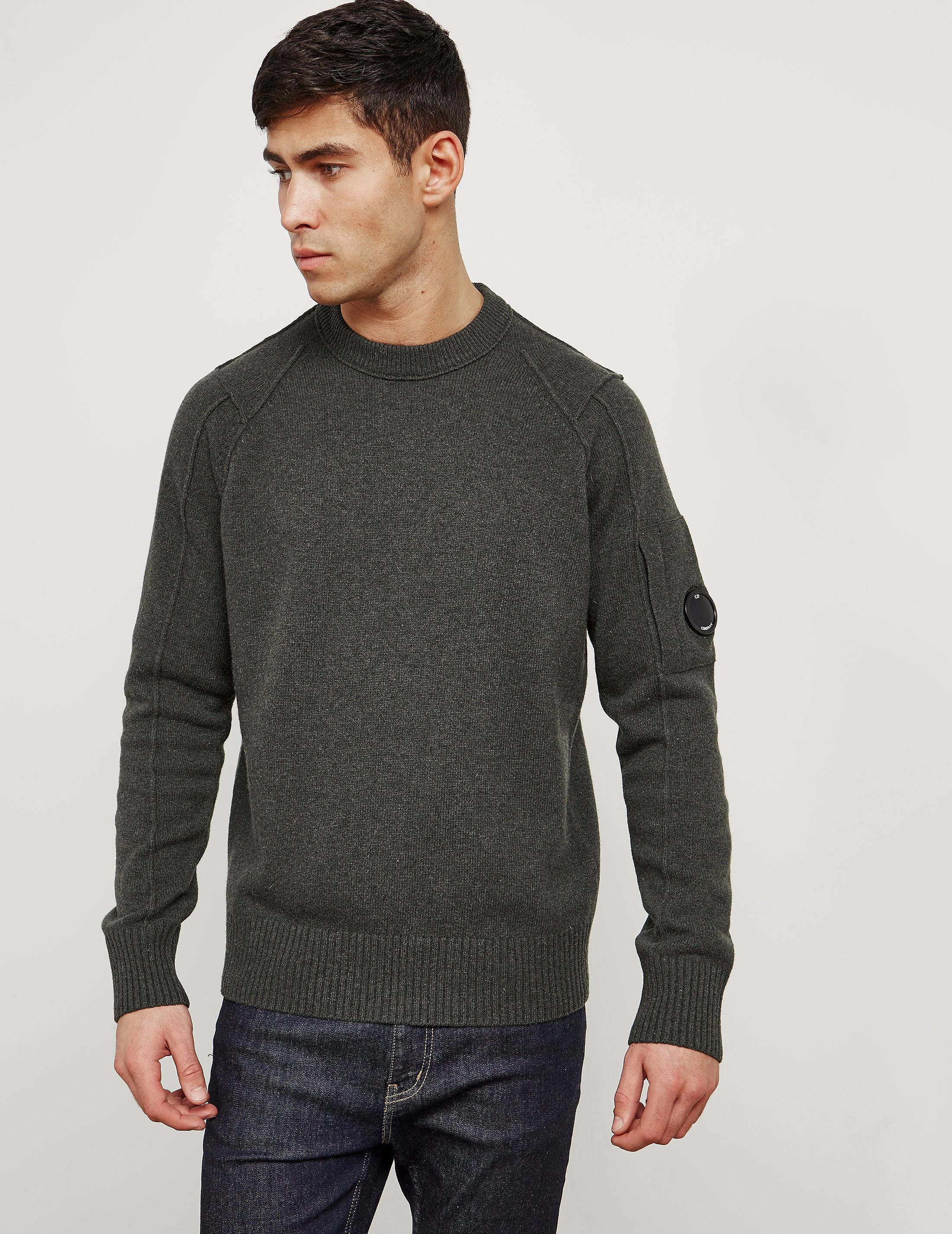 CP Company Lens Crew Neck Knitted Jumper