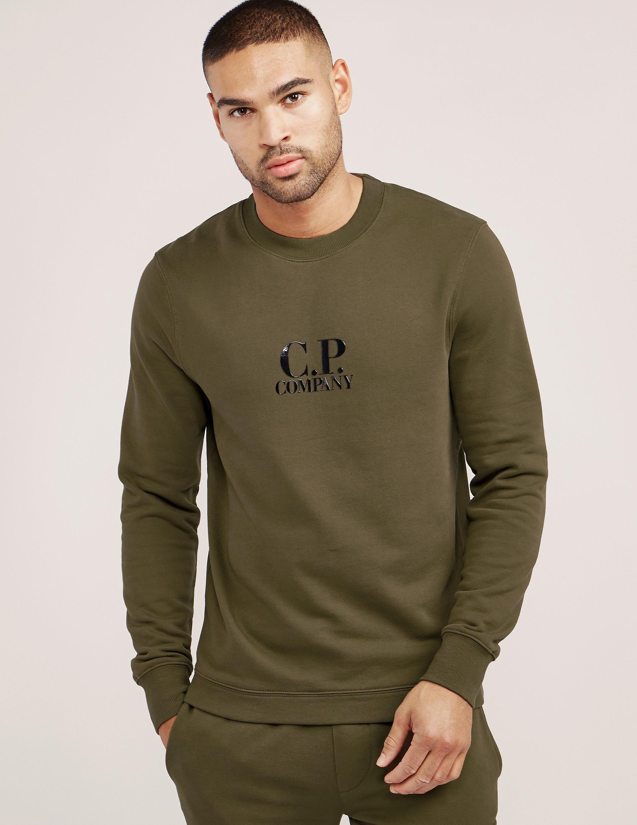 CP Company Logo Crew Sweatshirt