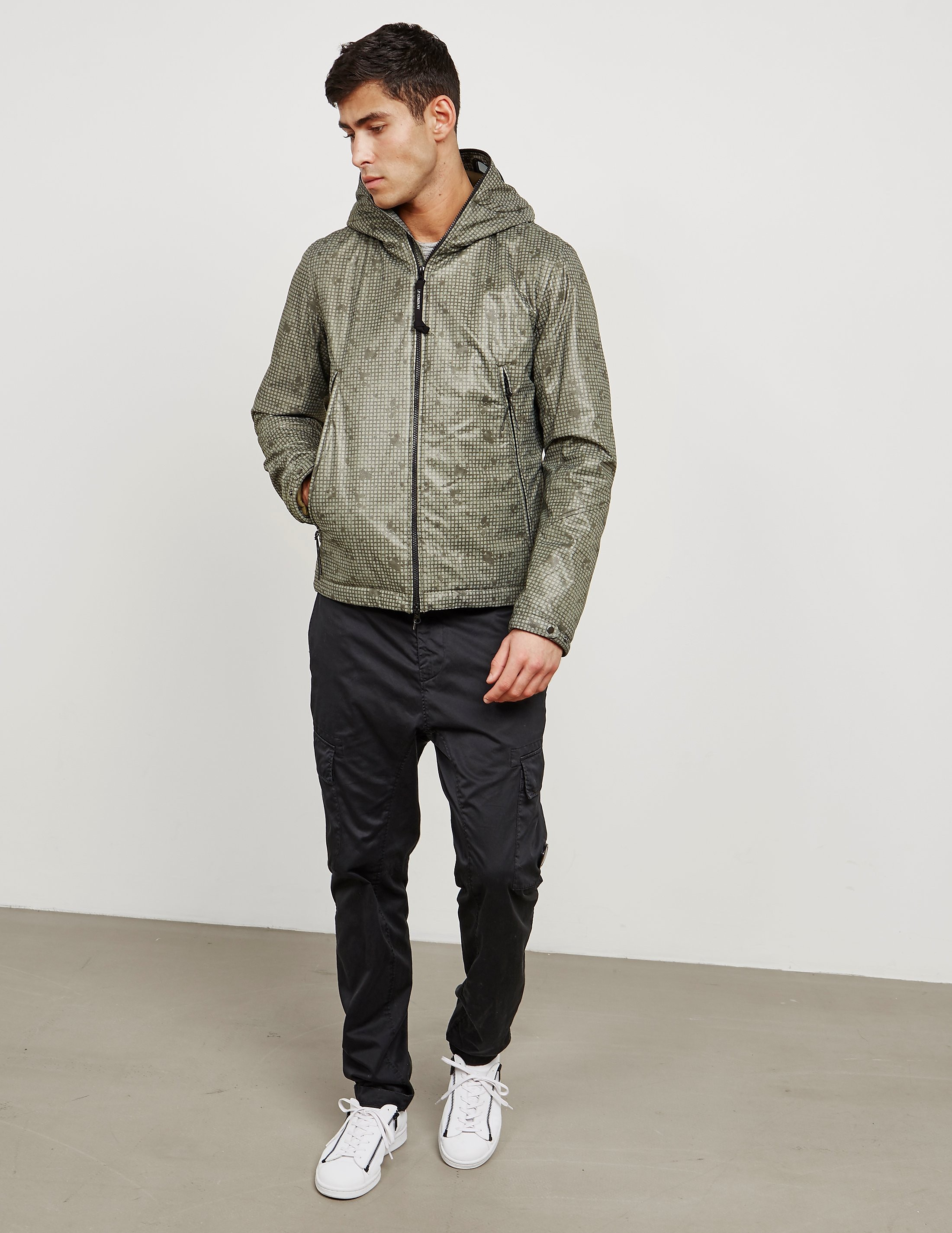 CP Company Camo Google Lightweight Jacket - Online Exclusive