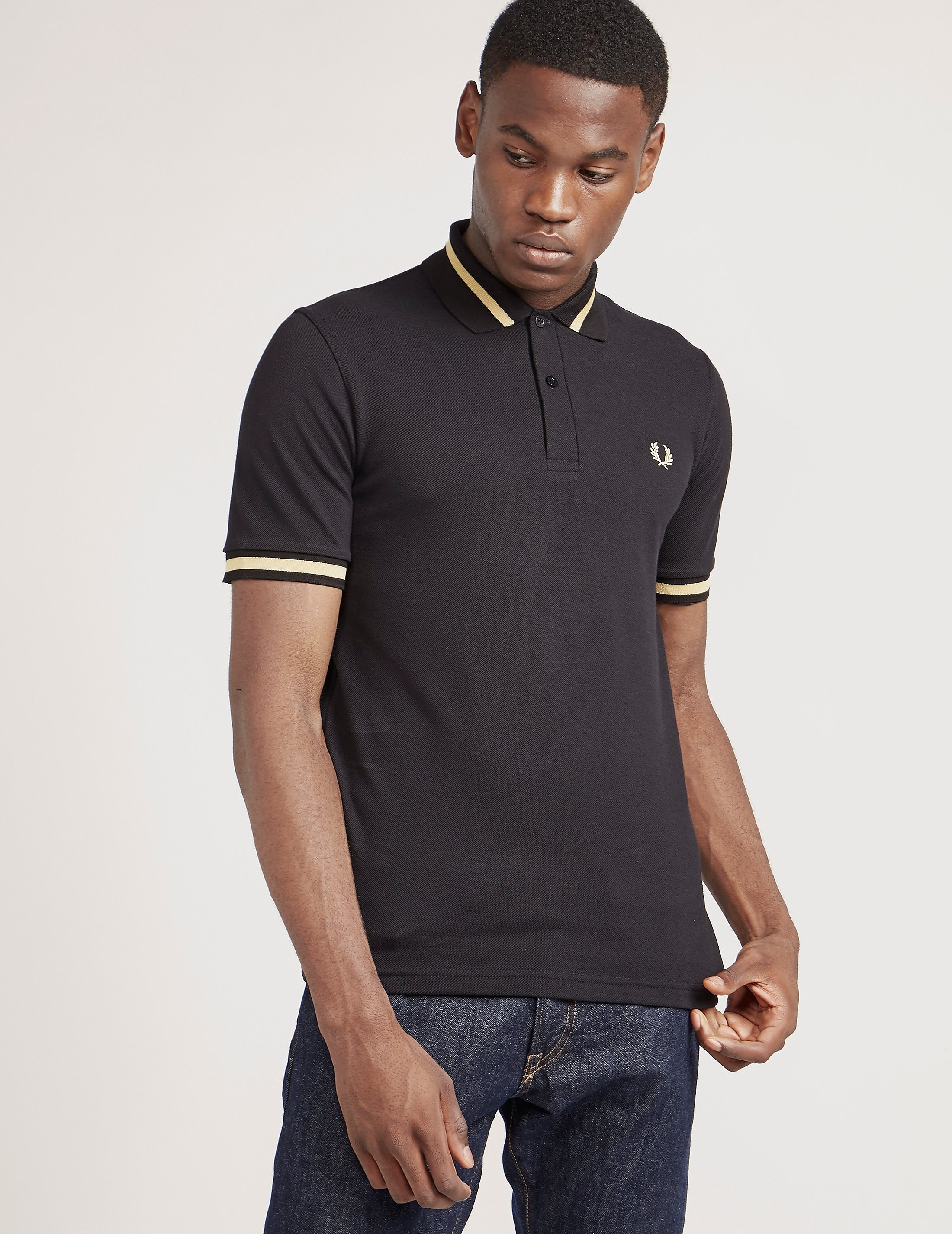 Fred Perry Reissue Tipped Short Sleeve Polo Shirt