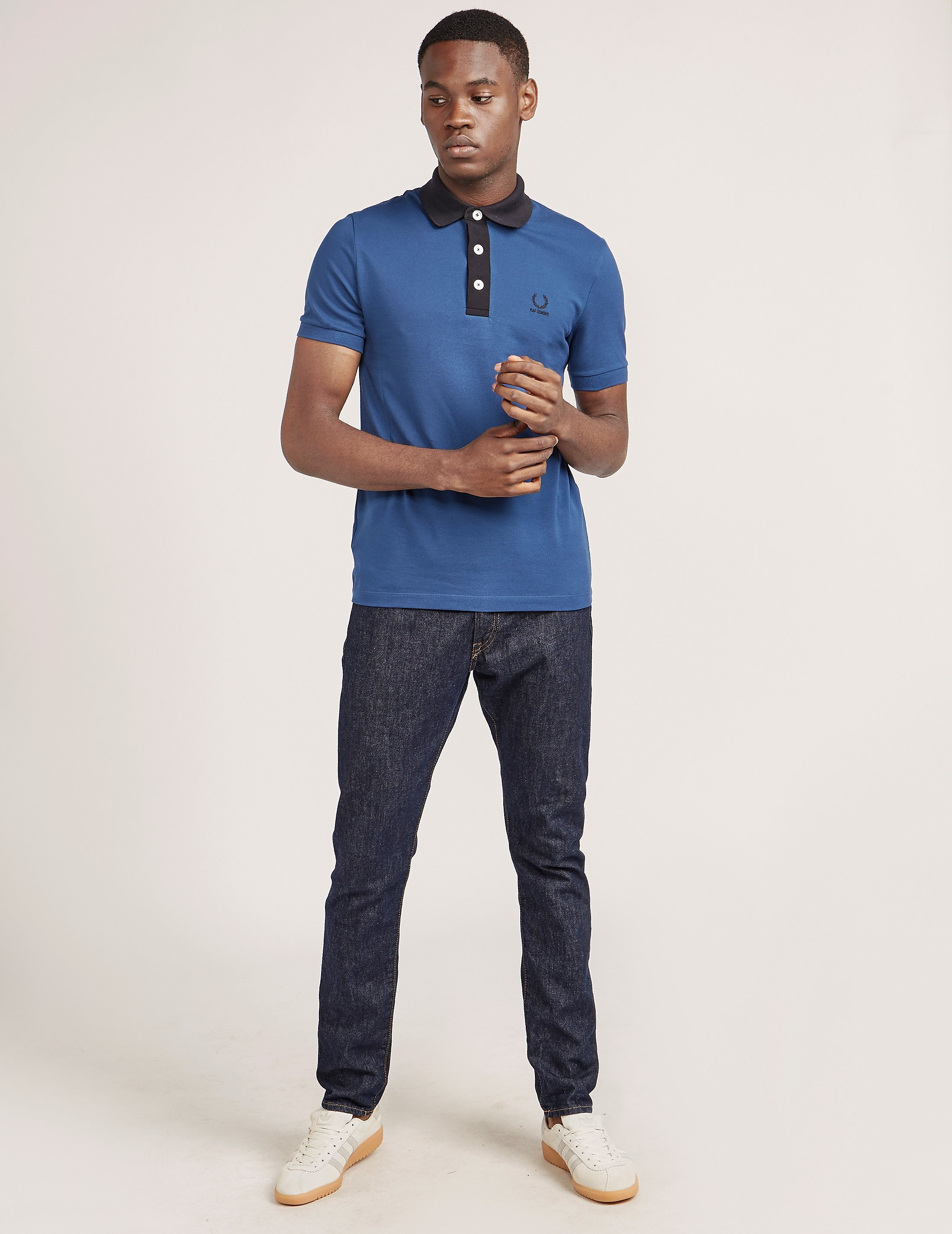 Fred Perry Raf Contrast Short Sleeve Polo Shirt