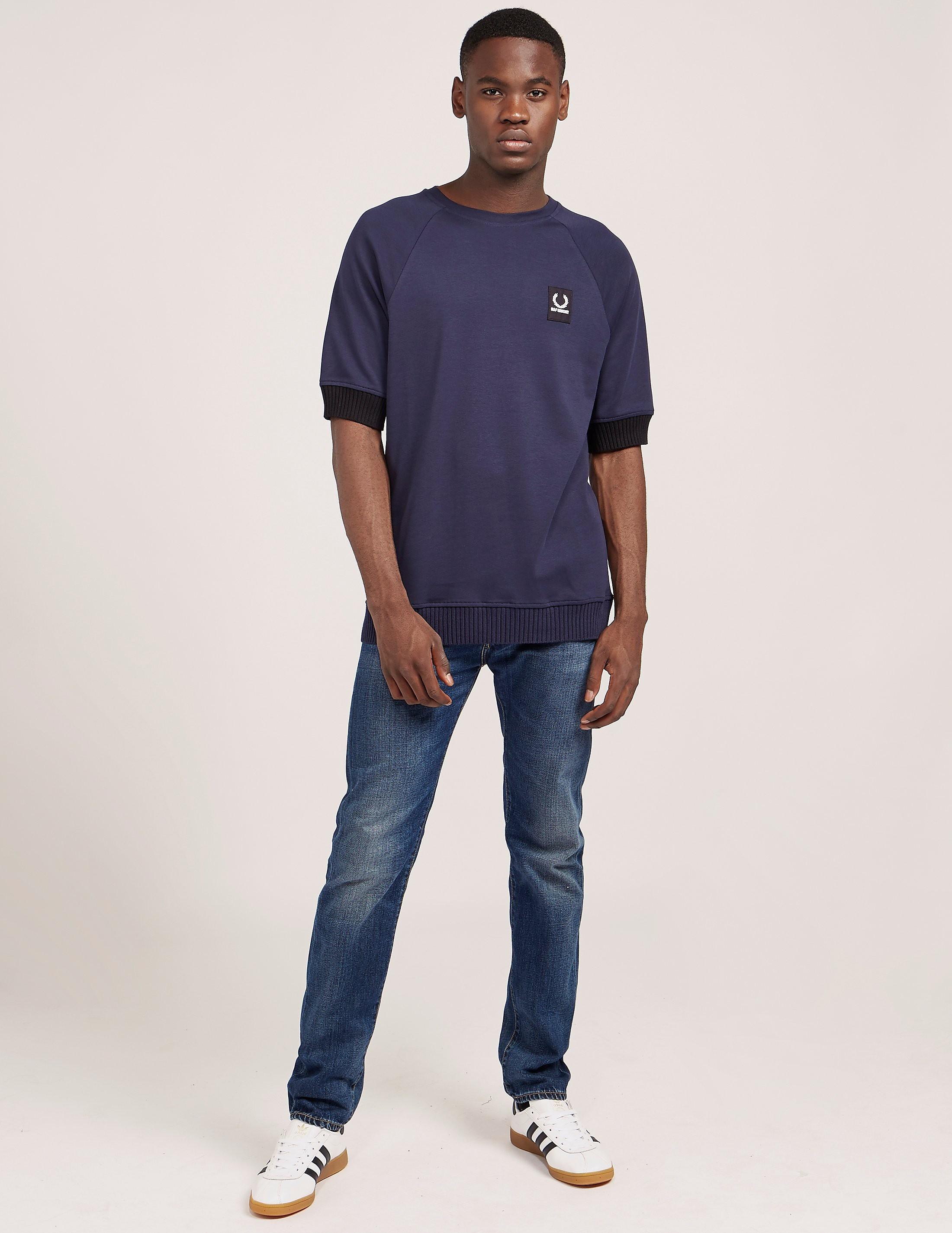 Fred Perry Raf Simons Raglan Short Sleeve T-Shirt