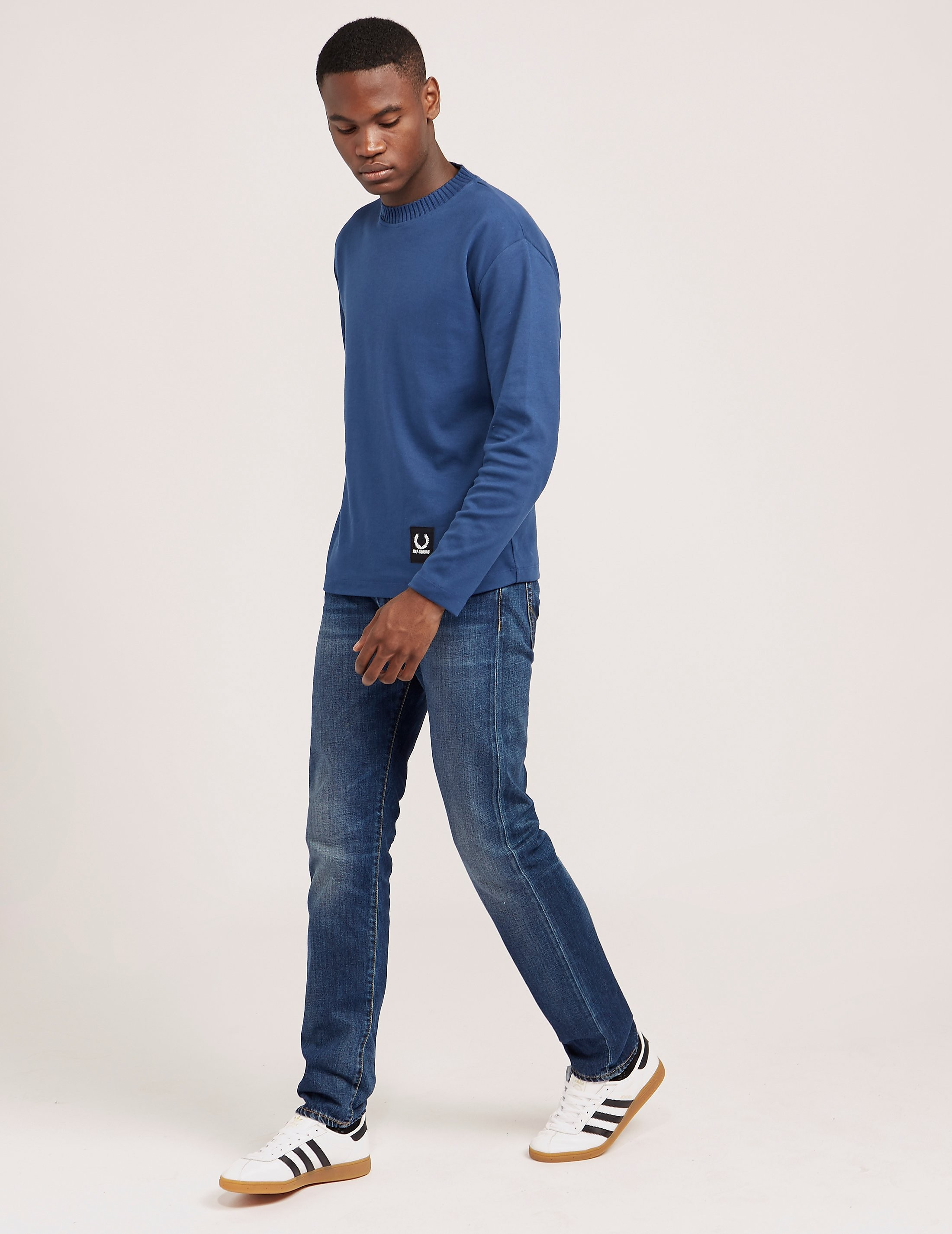 Fred Perry Raf Long Sleeve Jersey T-Shirt