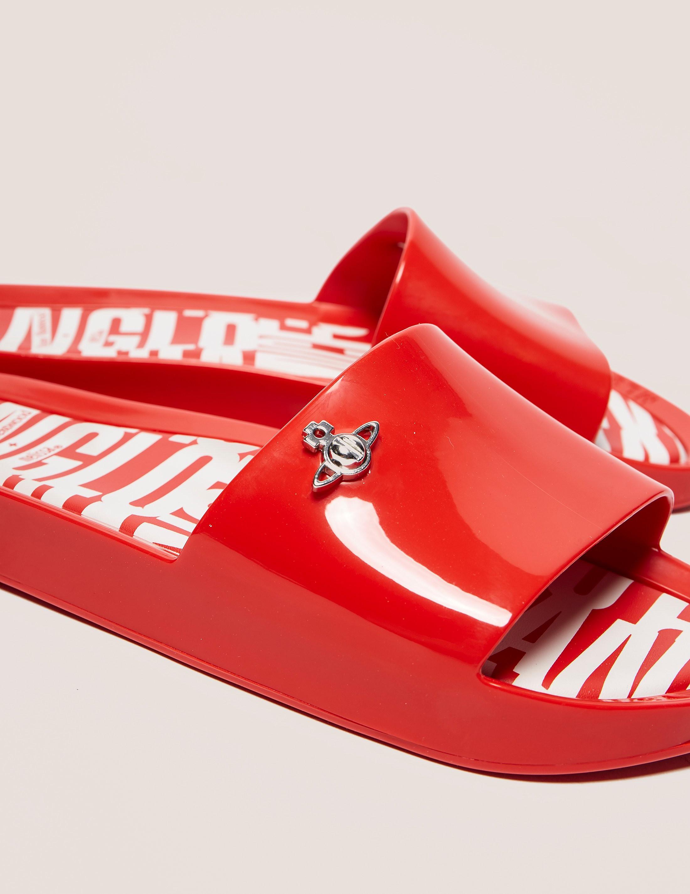 Melissa x Vivienne Westwood Slide Sandals