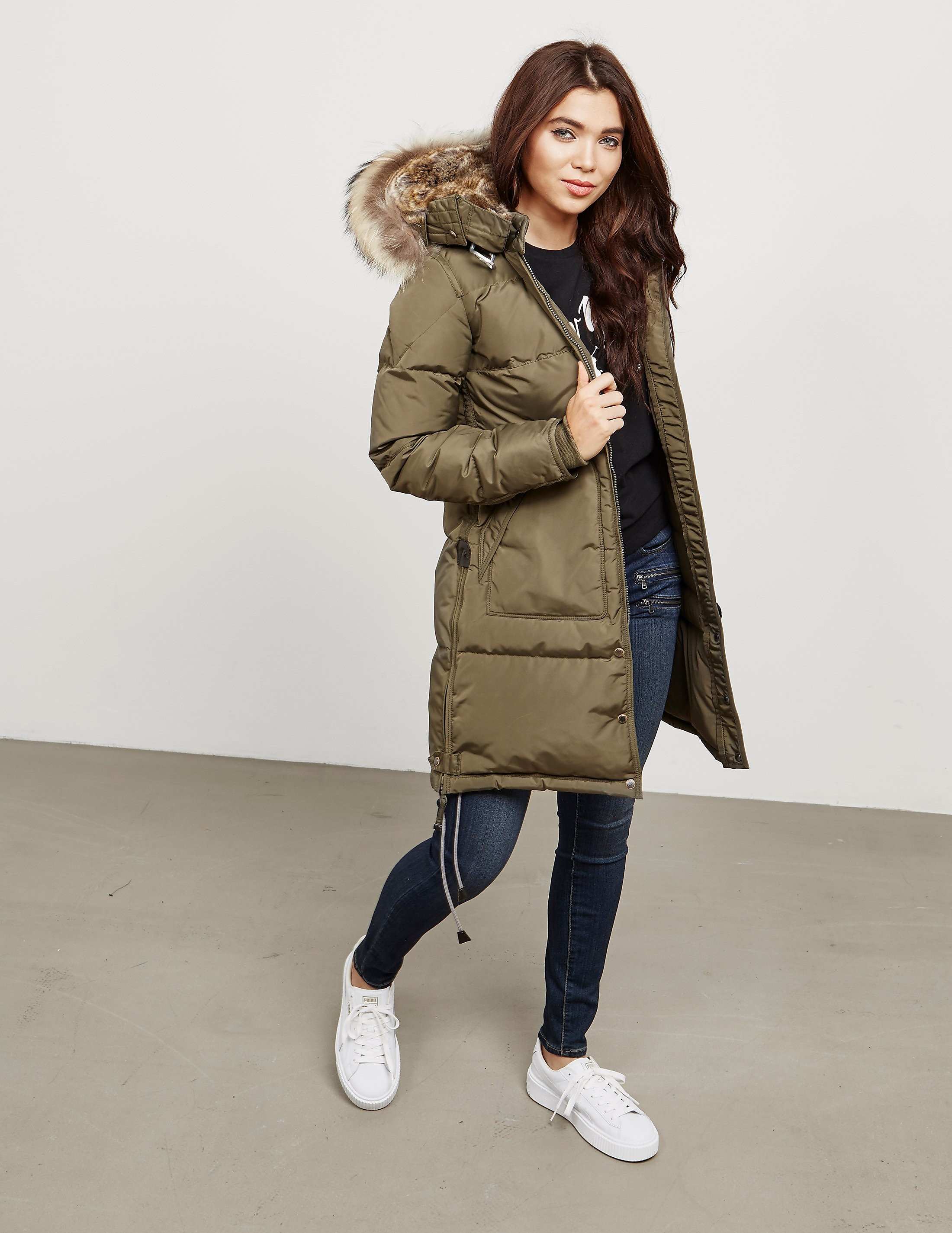 Parajumpers Long Bear Padded Jacket