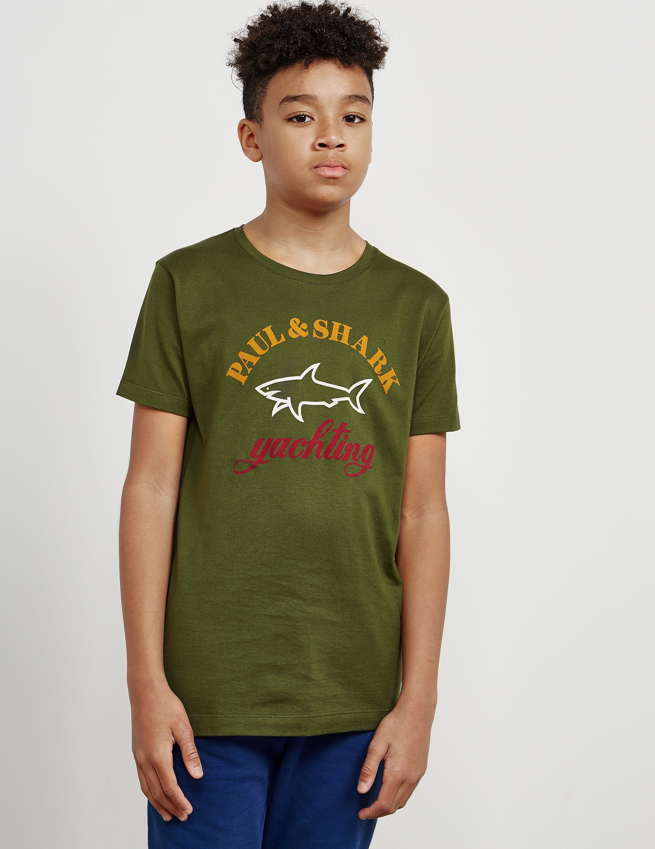 Paul and Shark Large Logo Short Sleeve T-Shirt