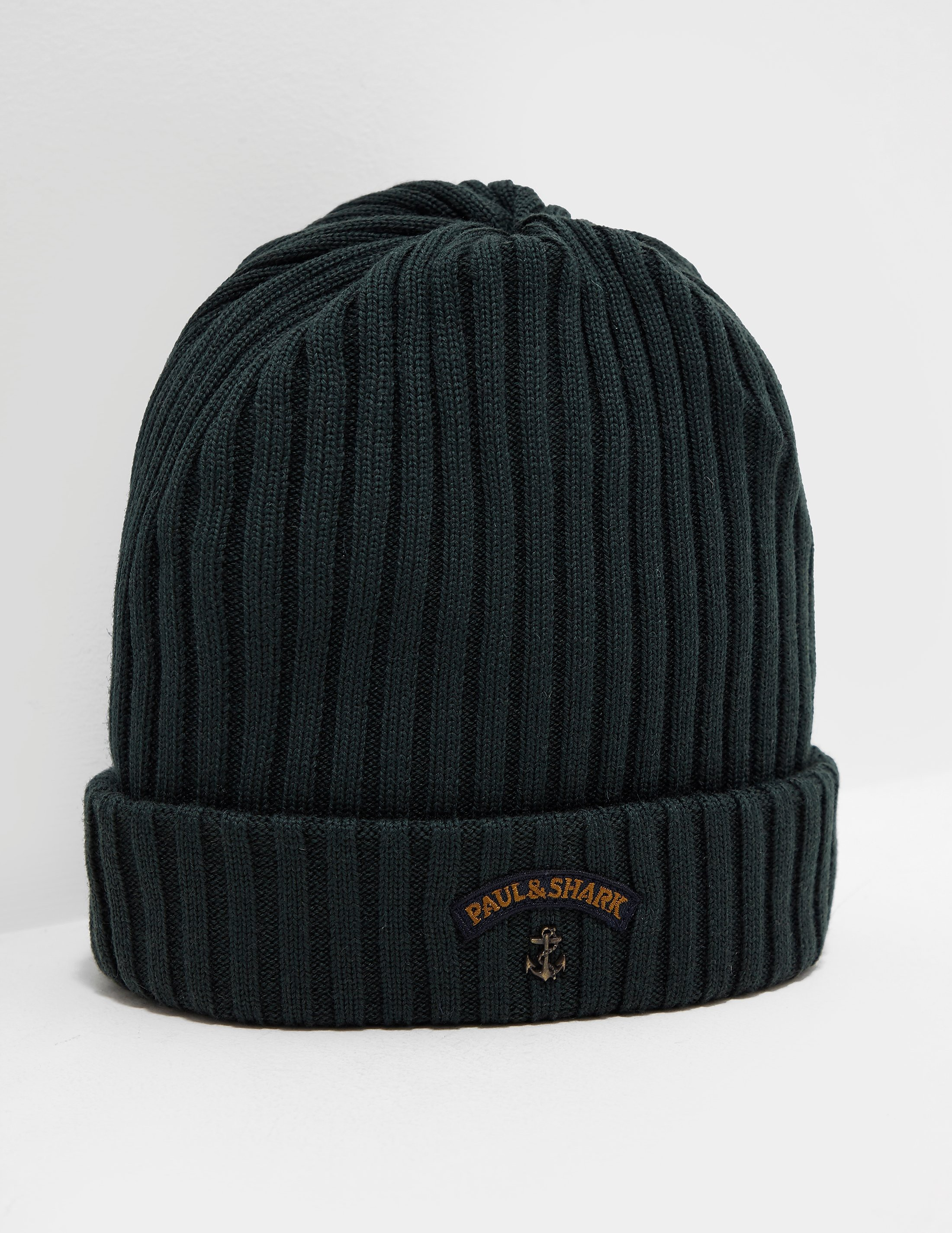 Paul and Shark Ribbed Beanie - Exclusive