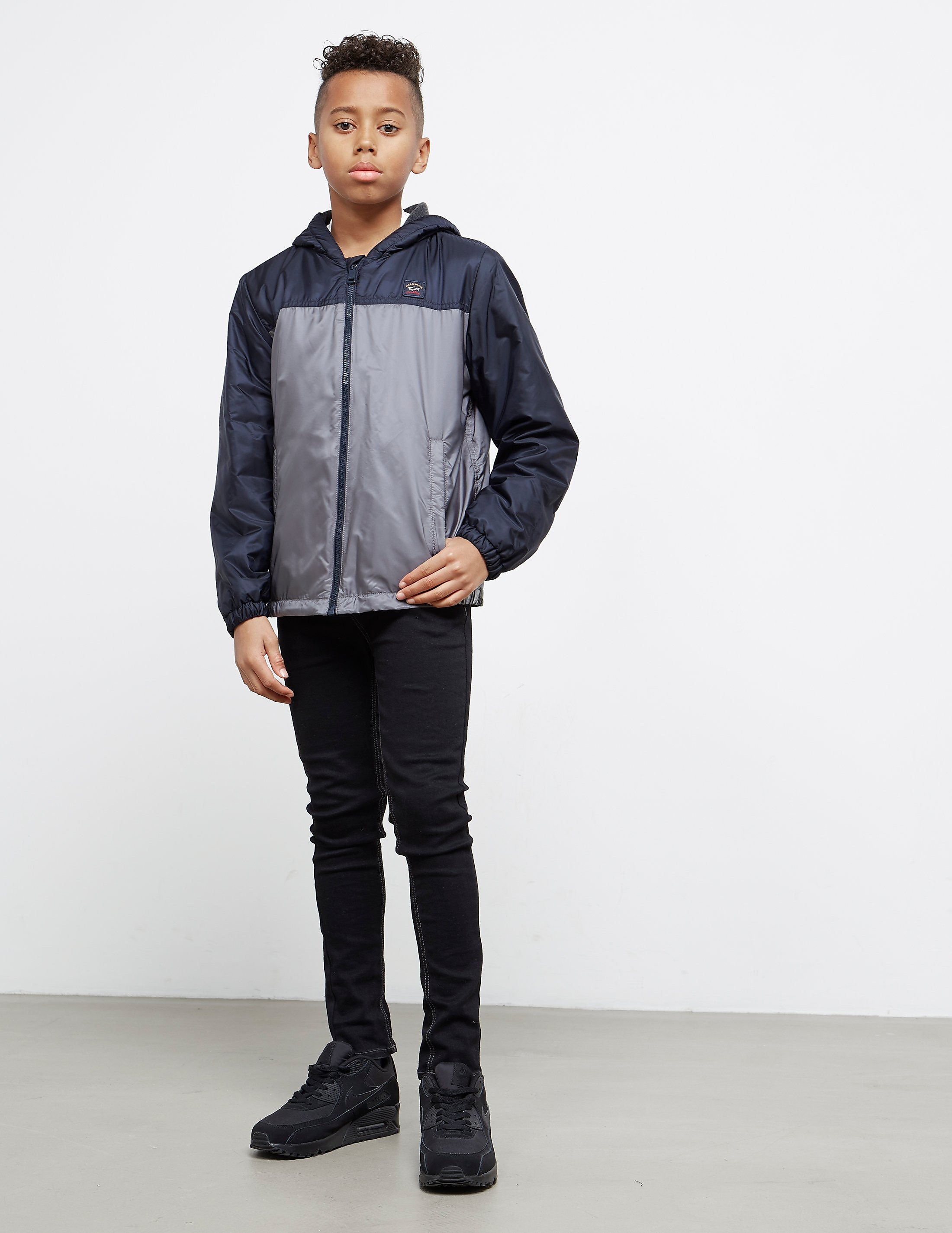 Paul and Shark Panel Windbreaker Jacket