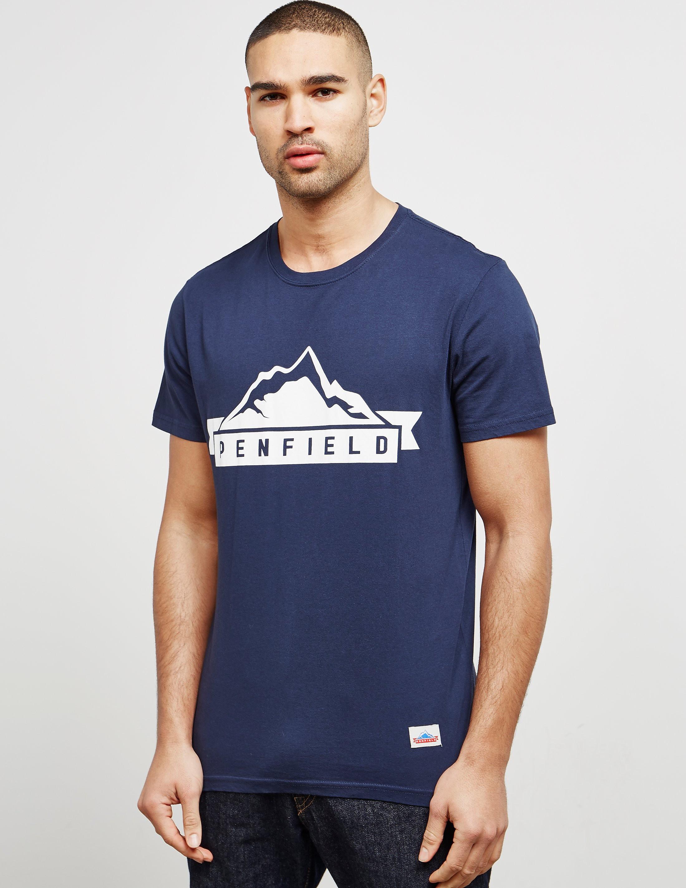 Penfield Mountain Logo Short Sleeve T-Shirt