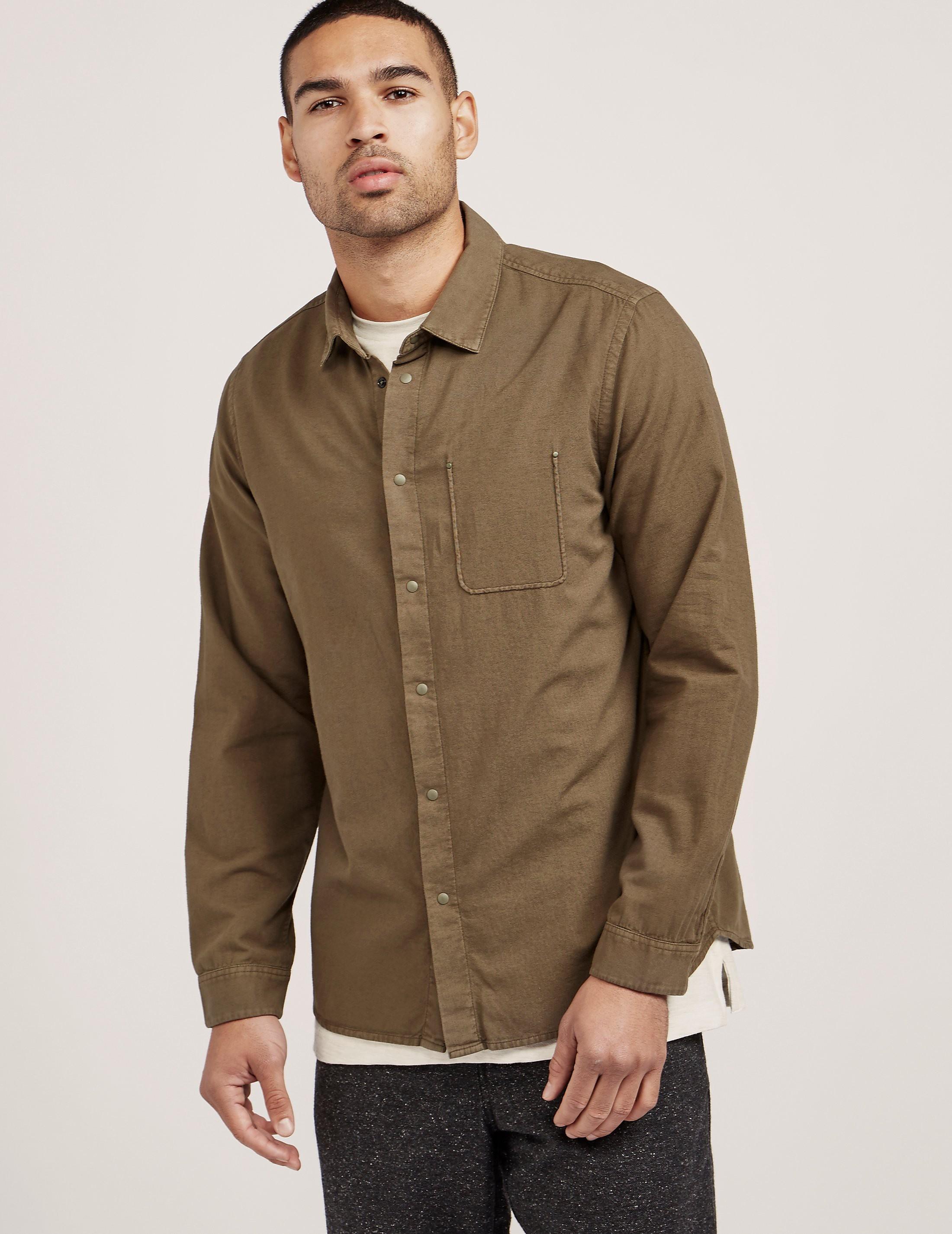 Folk Pocket Long Sleeve Shirt