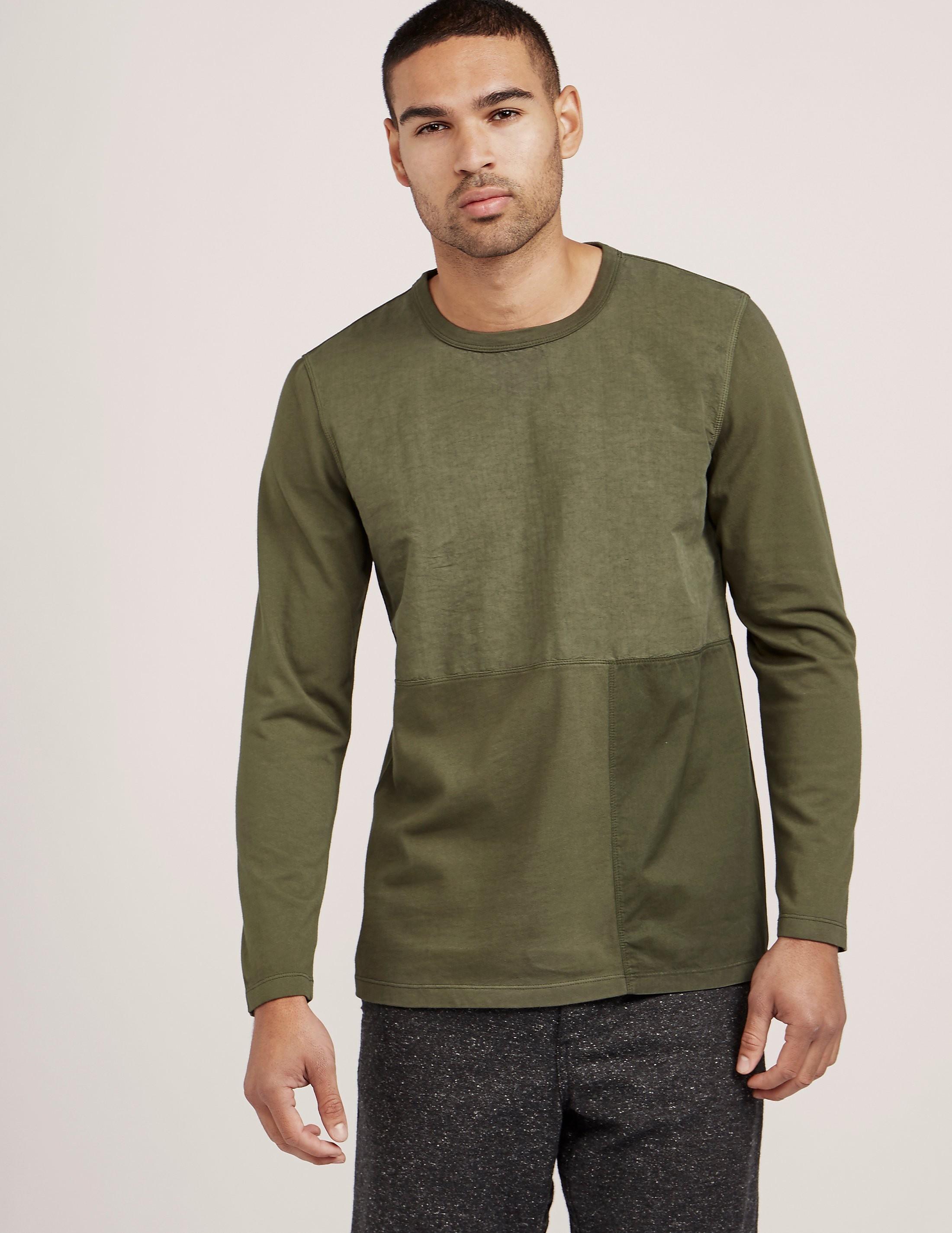 Folk Panel Long Sleeve T-Shirt