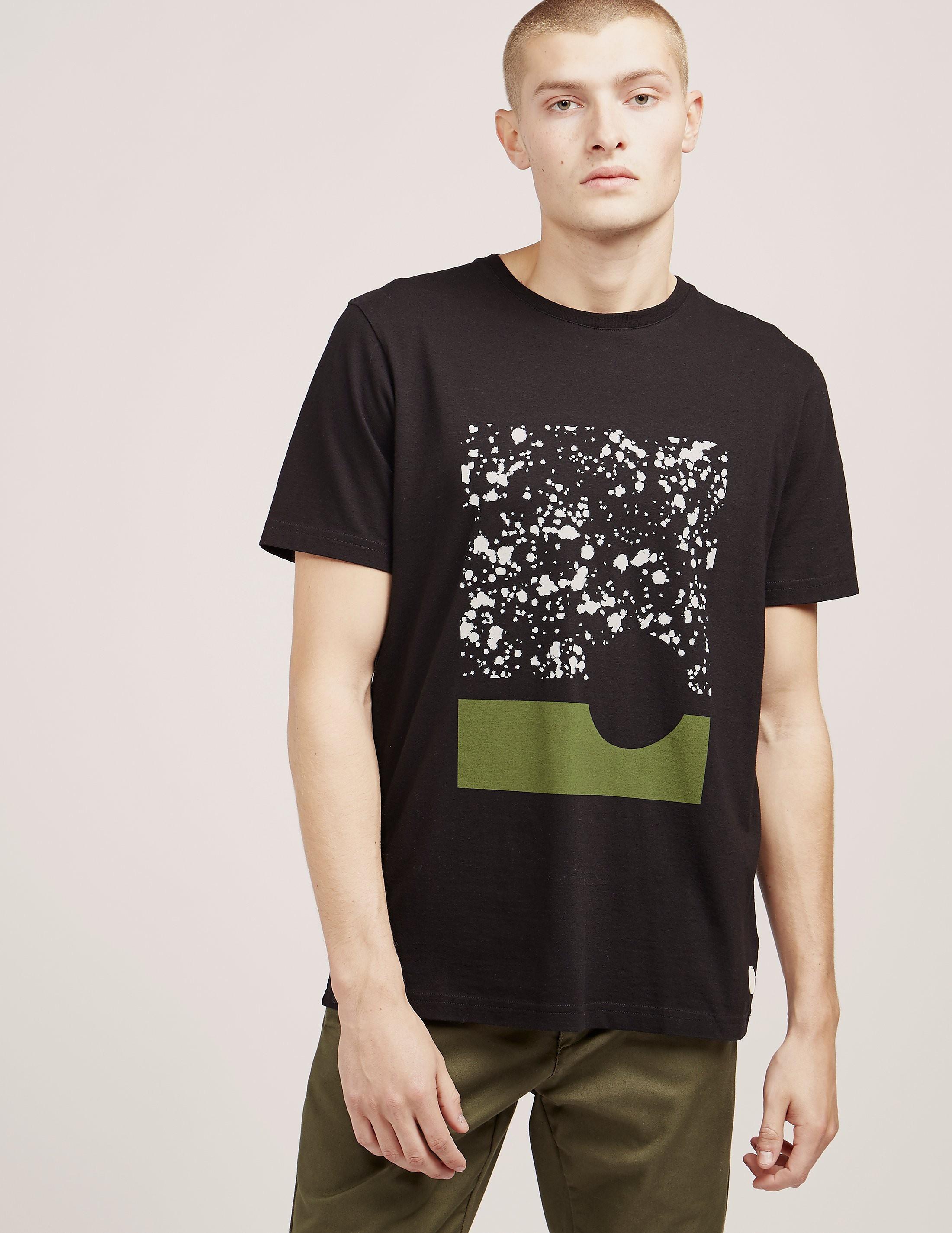Folk Splat Box Short Sleeve T-Shirt