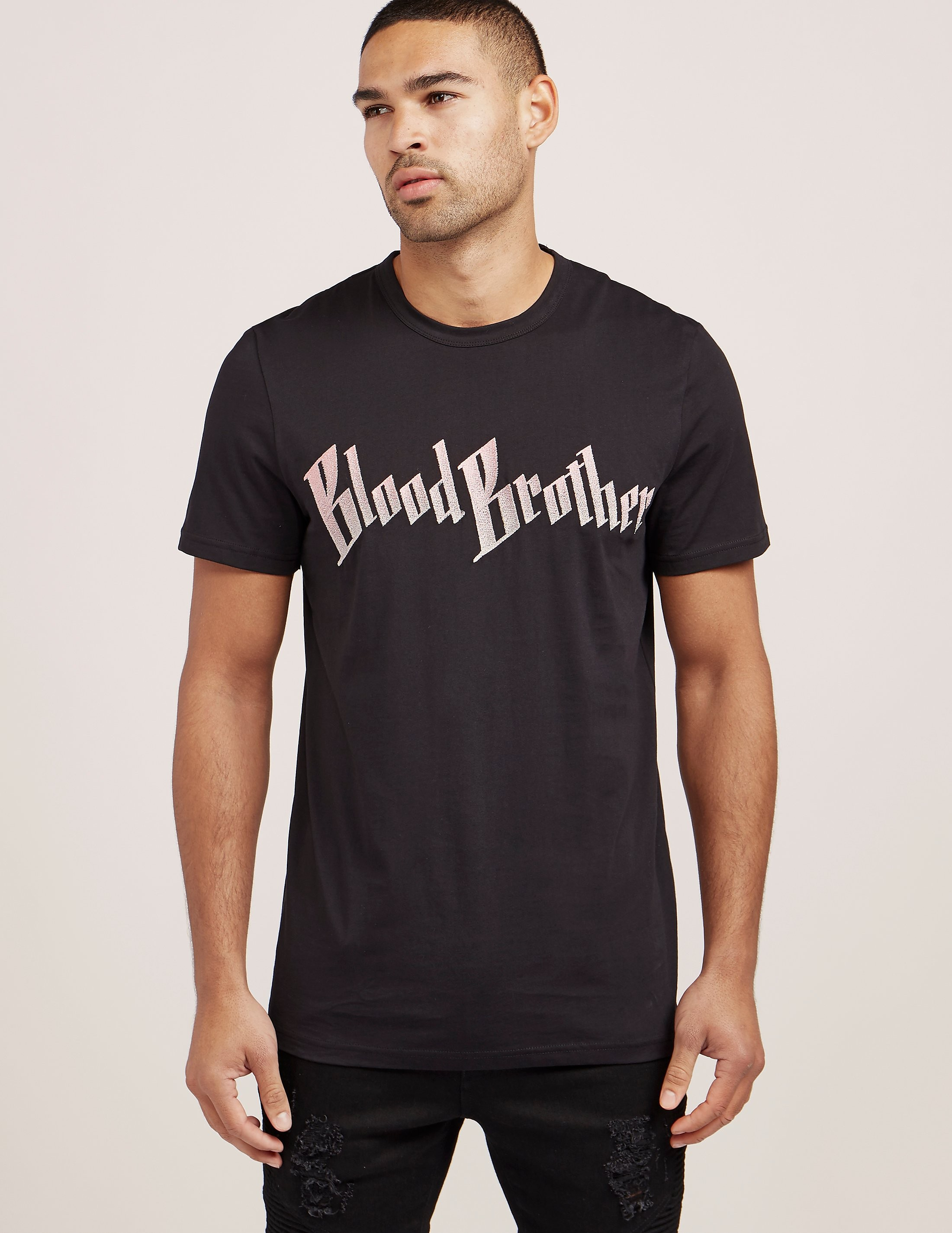Blood Brother Foil Logo Short Sleeve T-Shirt