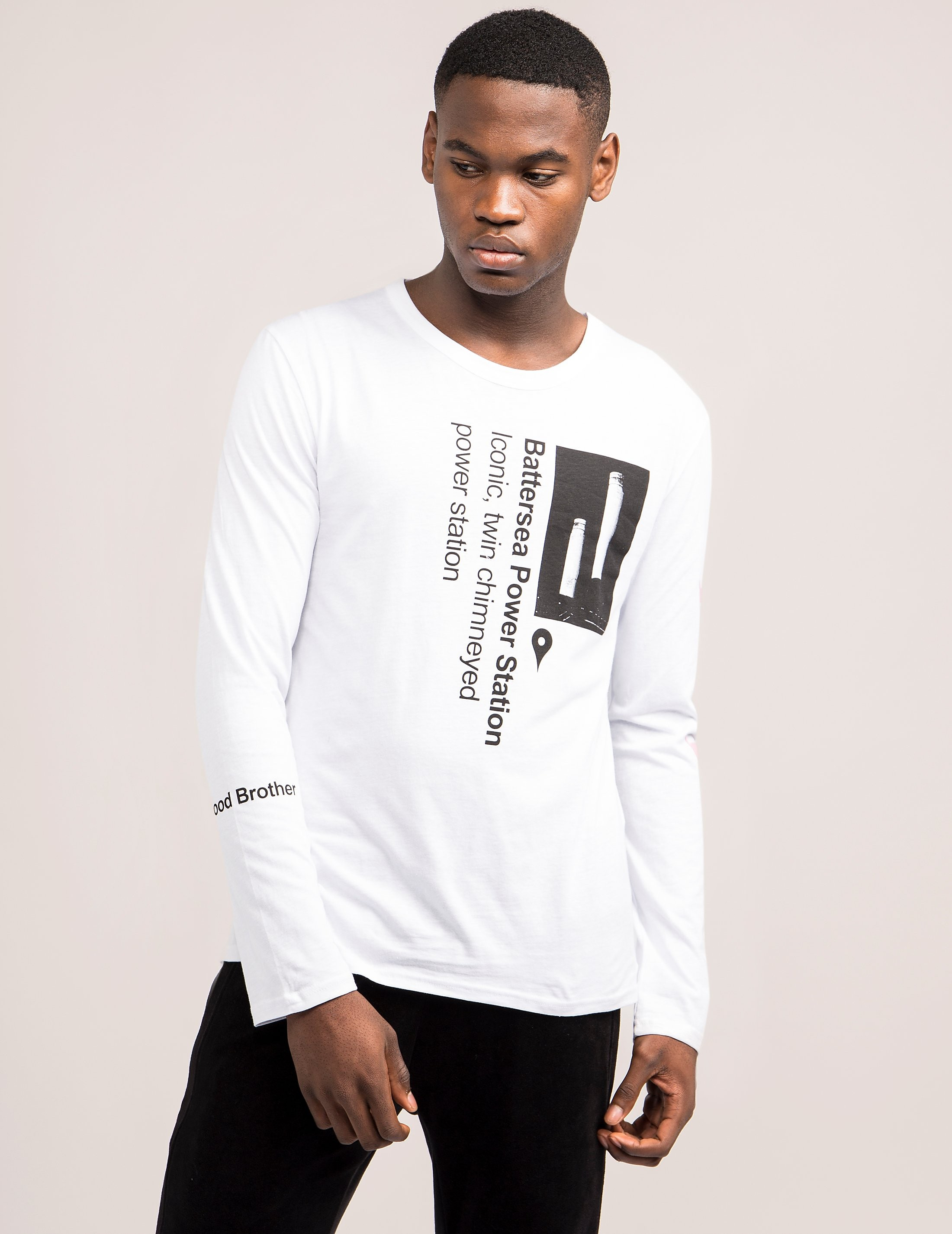 Blood Brother Power Long Sleeve T-Shirt