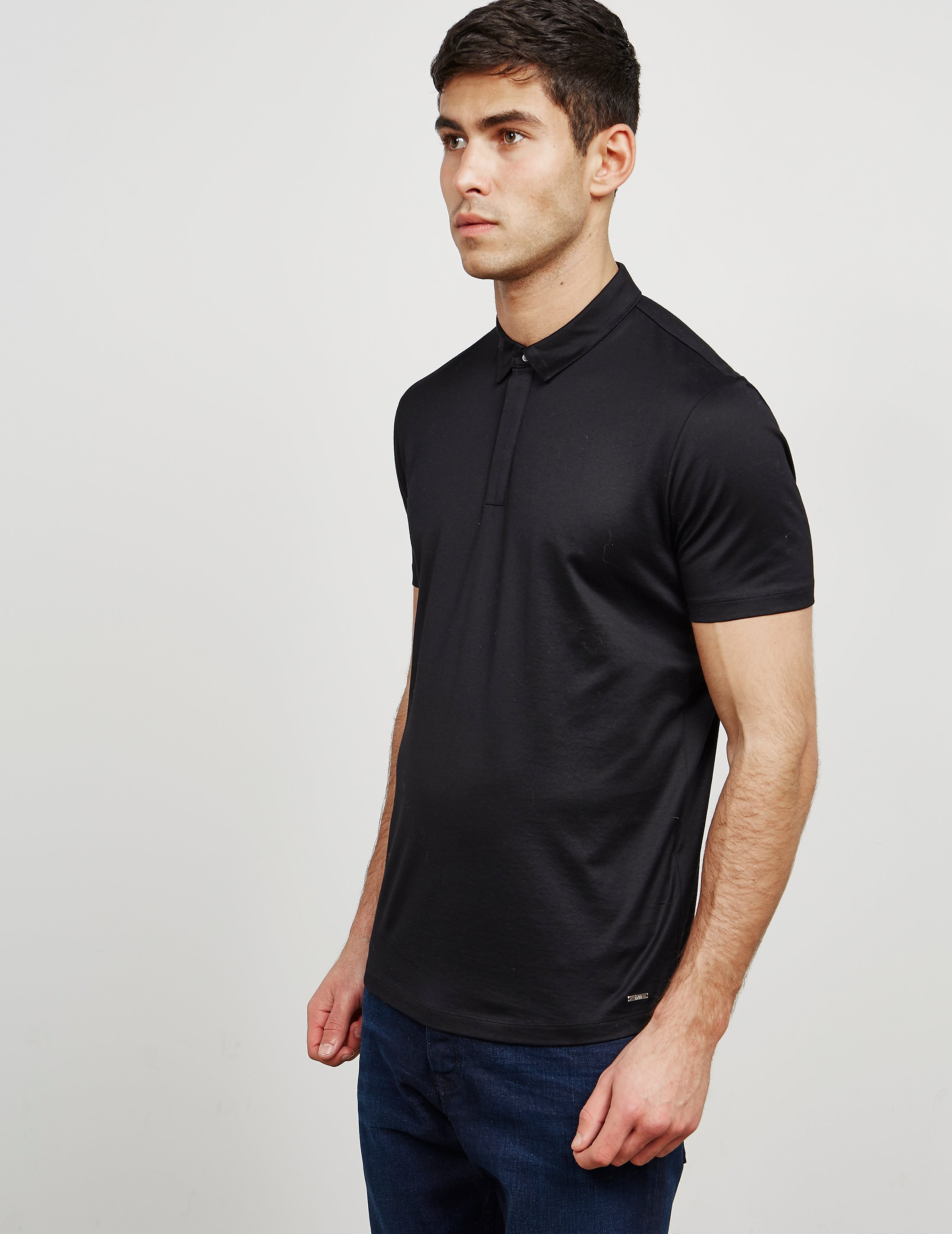 HUGO Mercerised Short Sleeve Polo Shirt