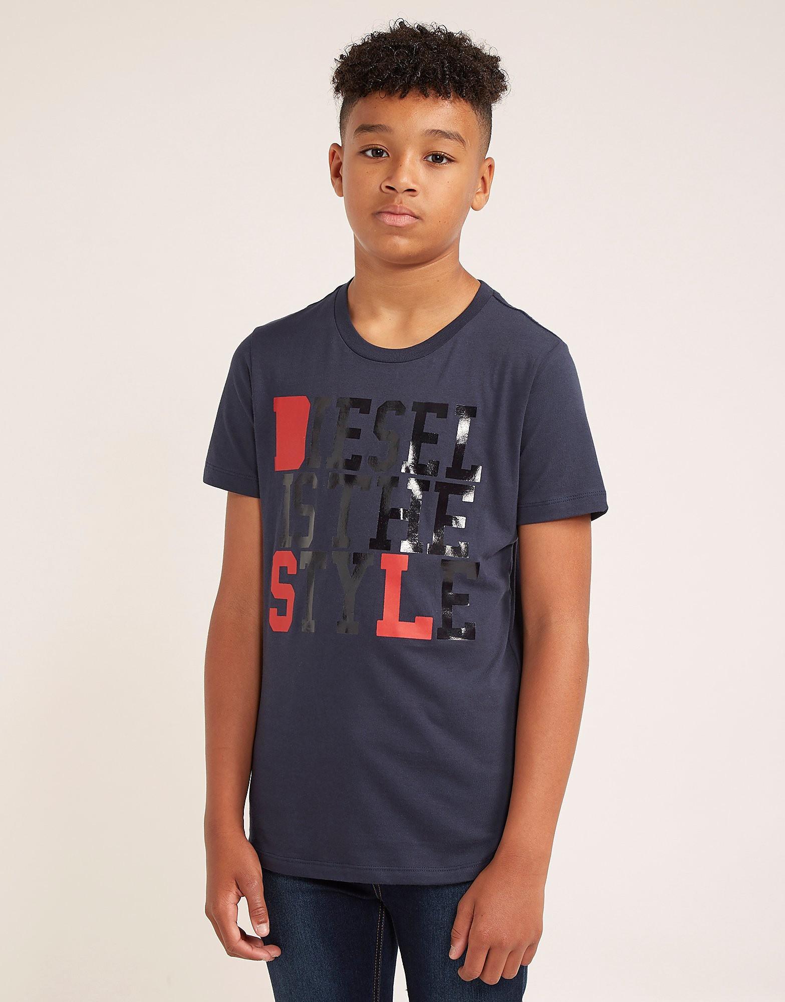 Diesel Logo Short Sleeve T-Shirt