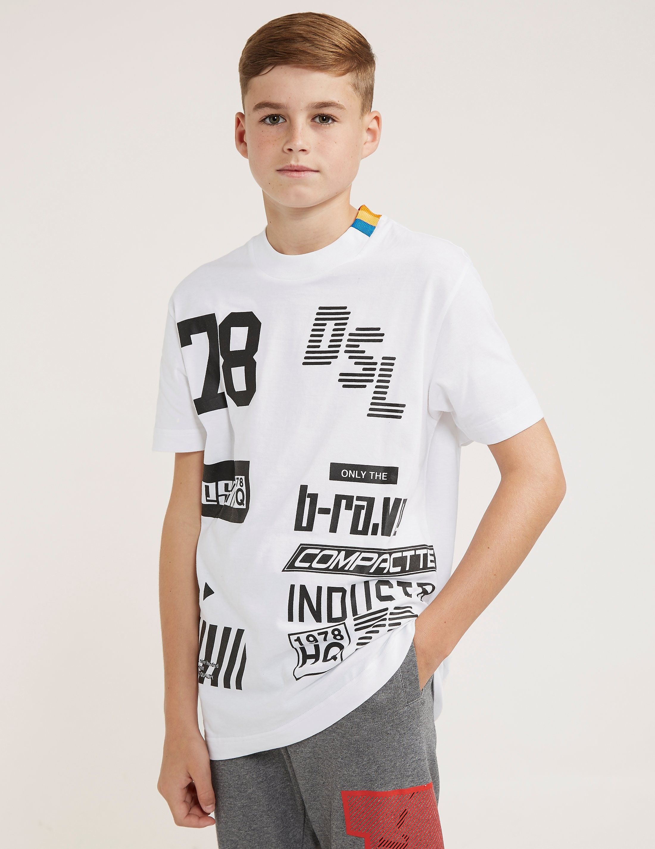 Diesel Multi Logo Short Sleeve T-Shirt