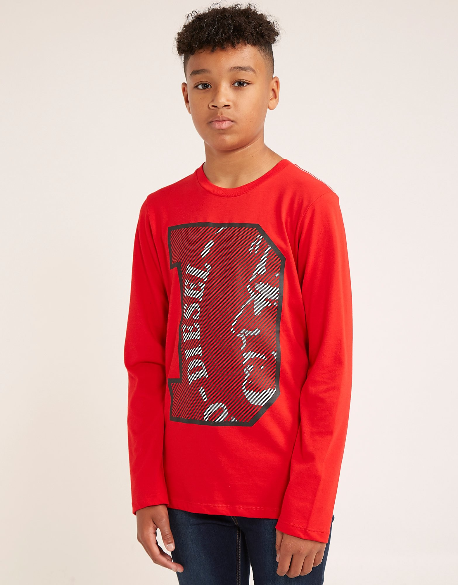 Diesel Logo Long Sleeve T-Shirt