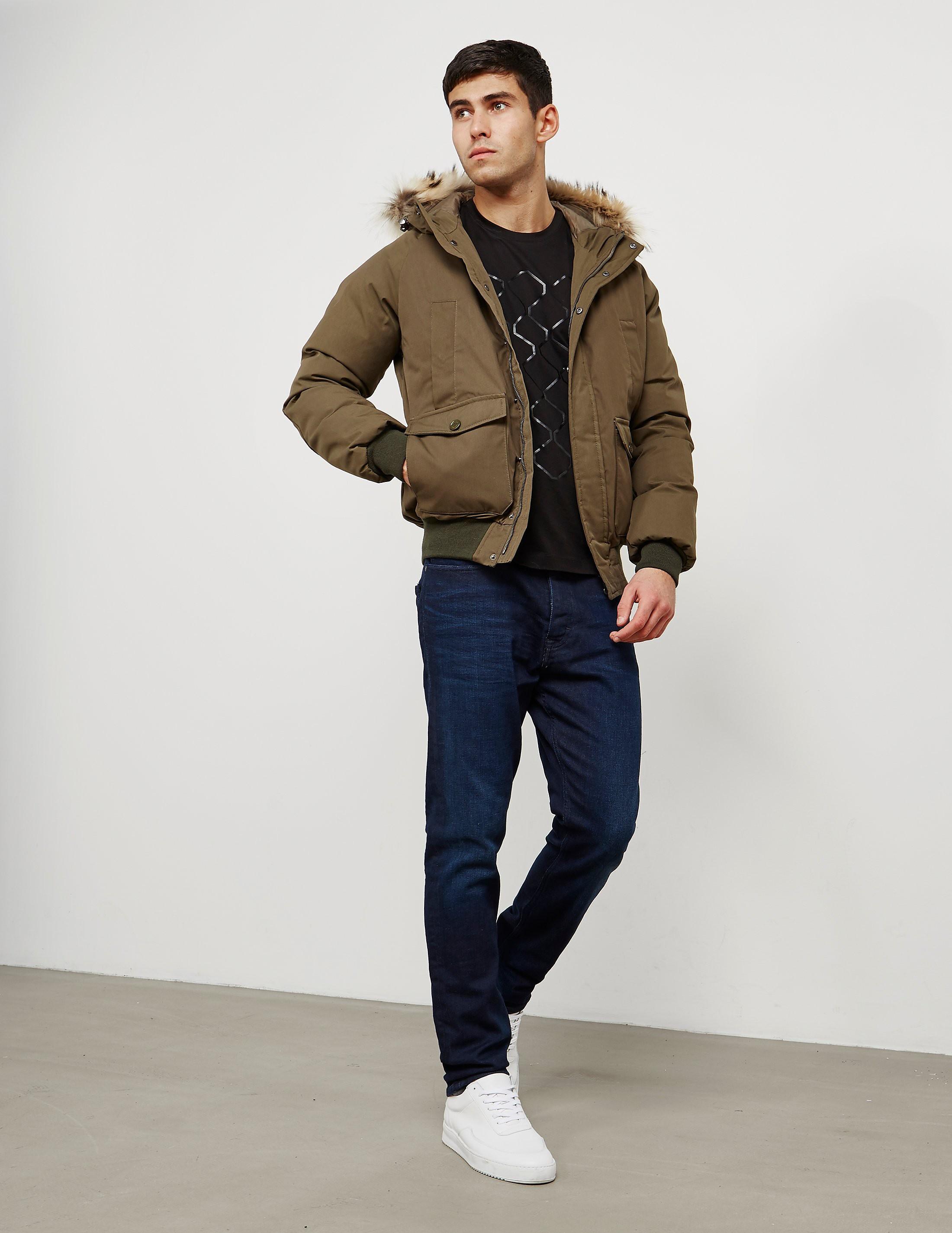 Pyrenex Mistral Fur Padded Jacket