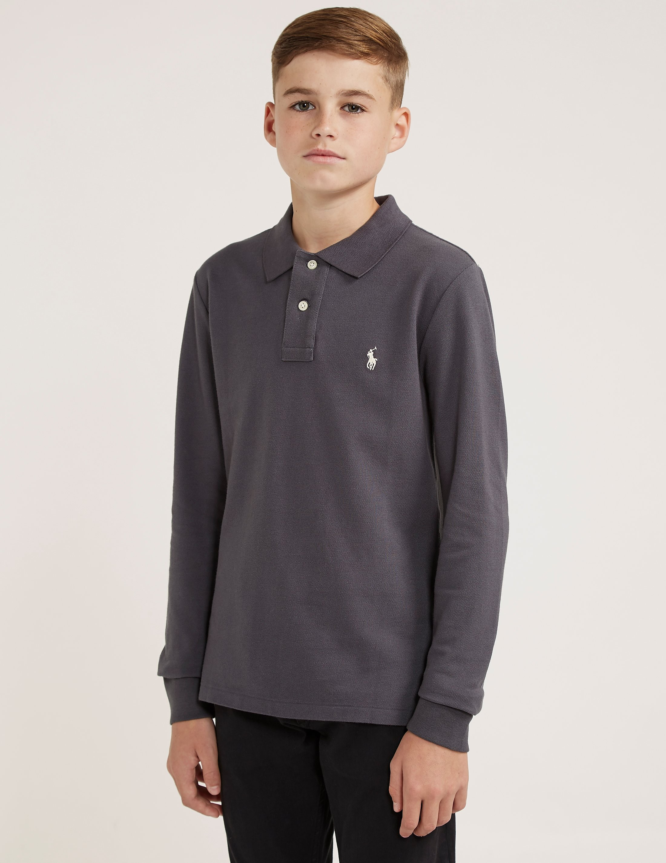 Polo Ralph Lauren Pique Long Sleeve Polo Shirt