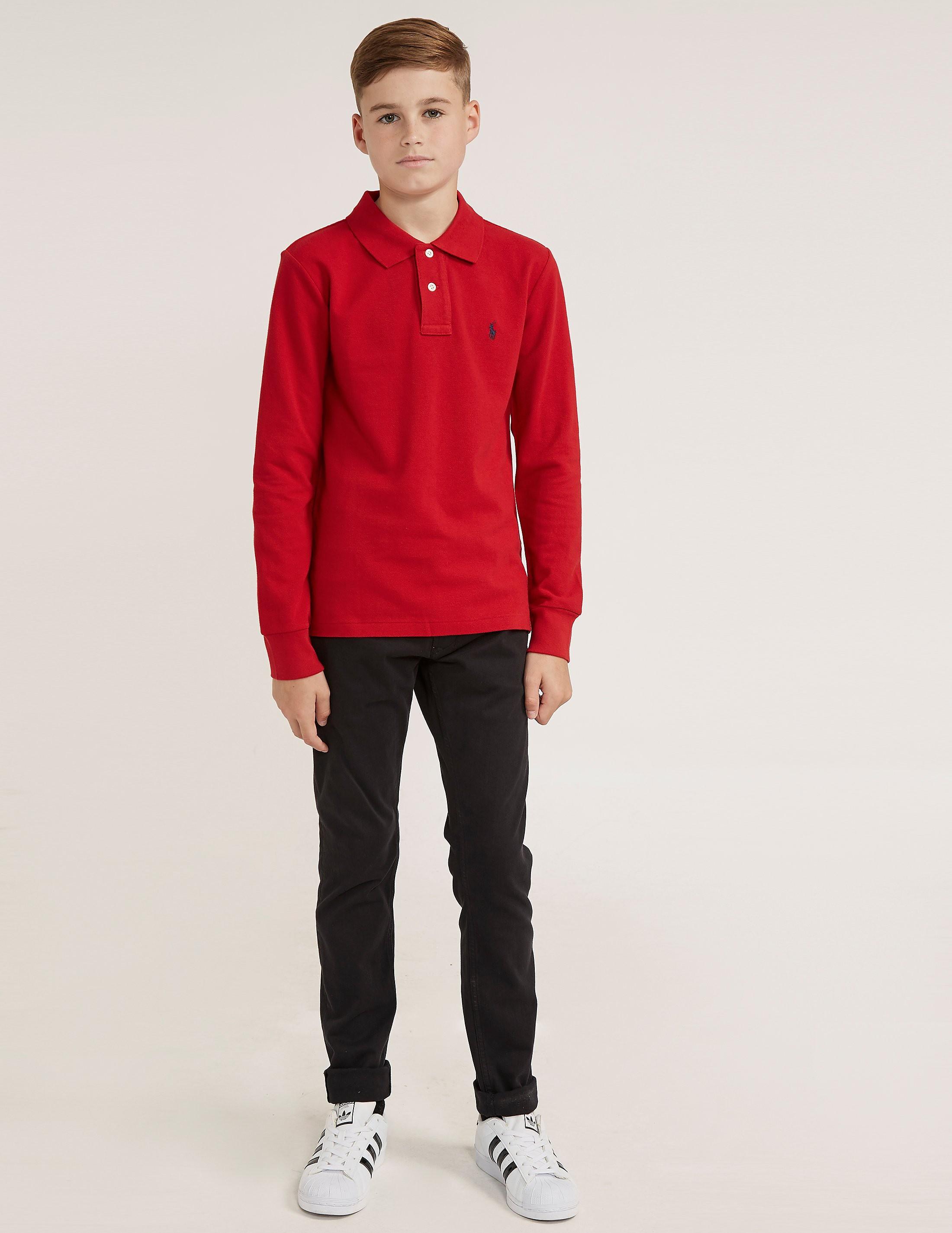 Polo Ralph Lauren Pique Long Sleeve Polo Shirt
