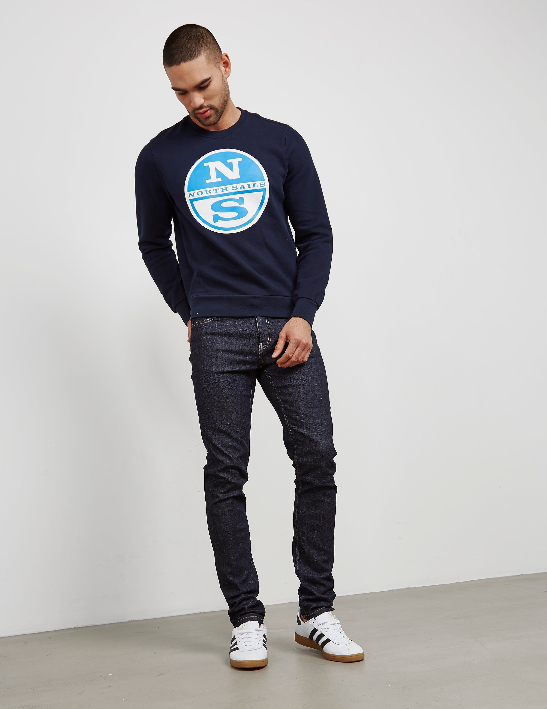 NORTH SAILS Logo Print Sweatshirt