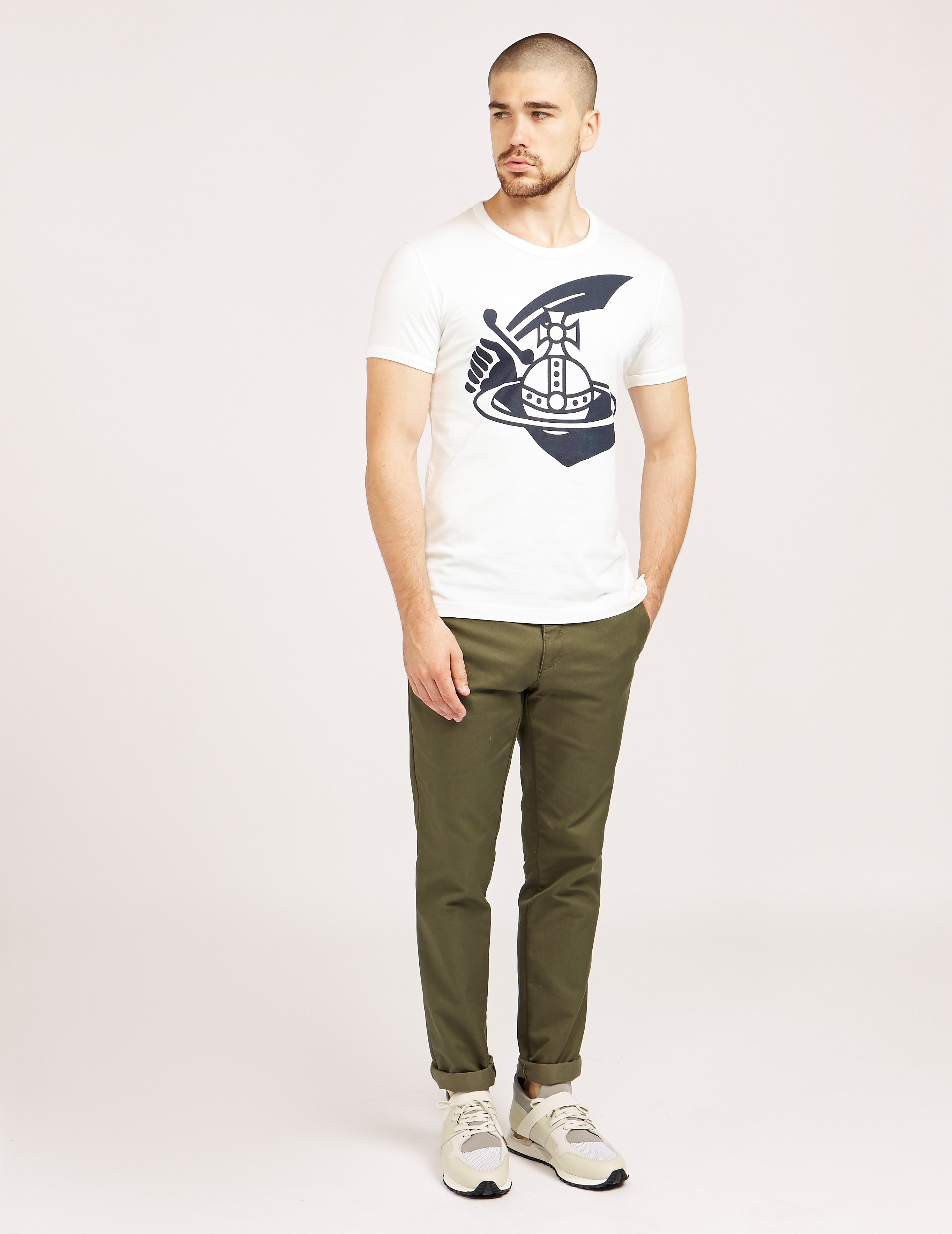 Vivienne Westwood Angolmania Sword Short Sleeve T-Shirt