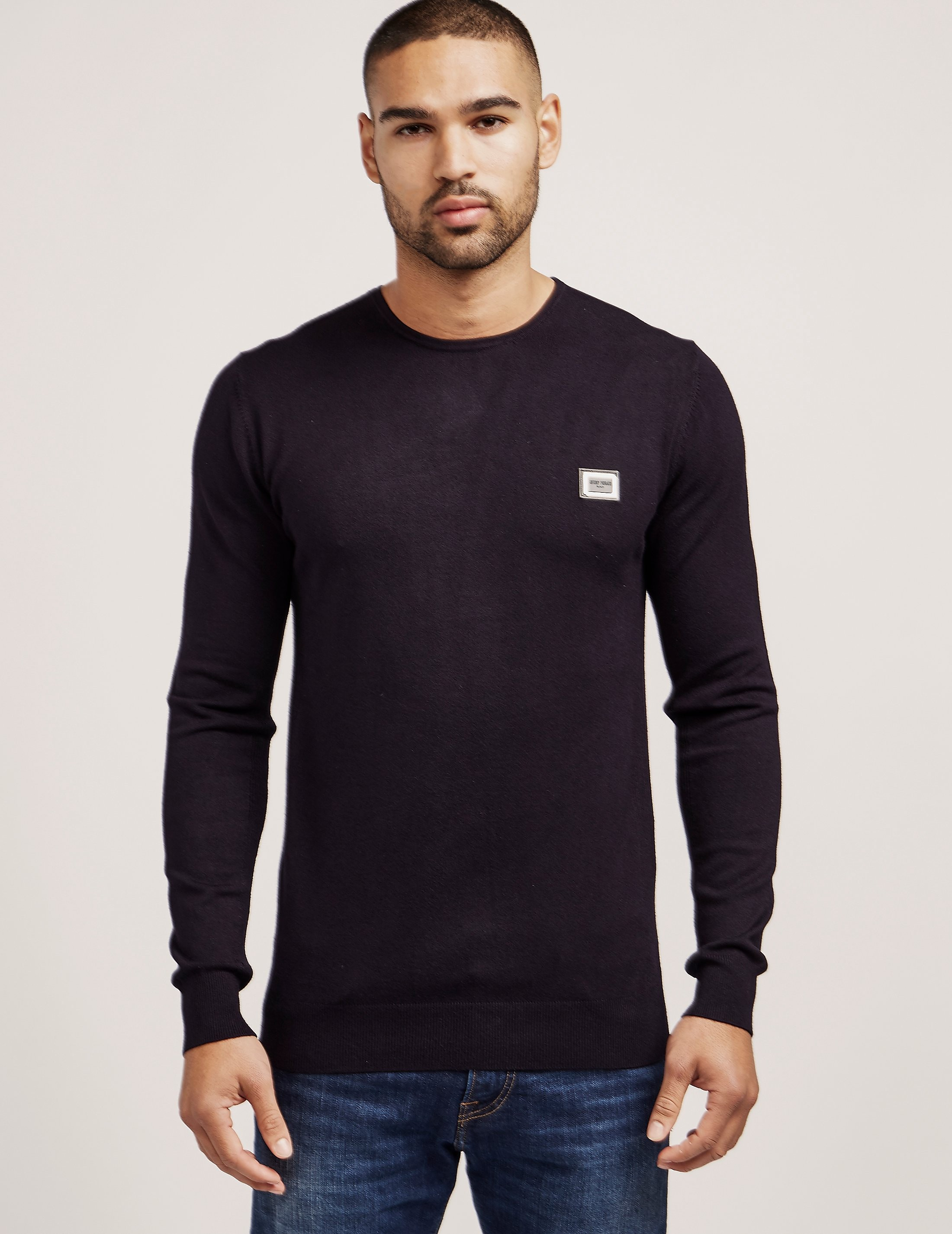 Antony Morato Plaque Knitted Jumper