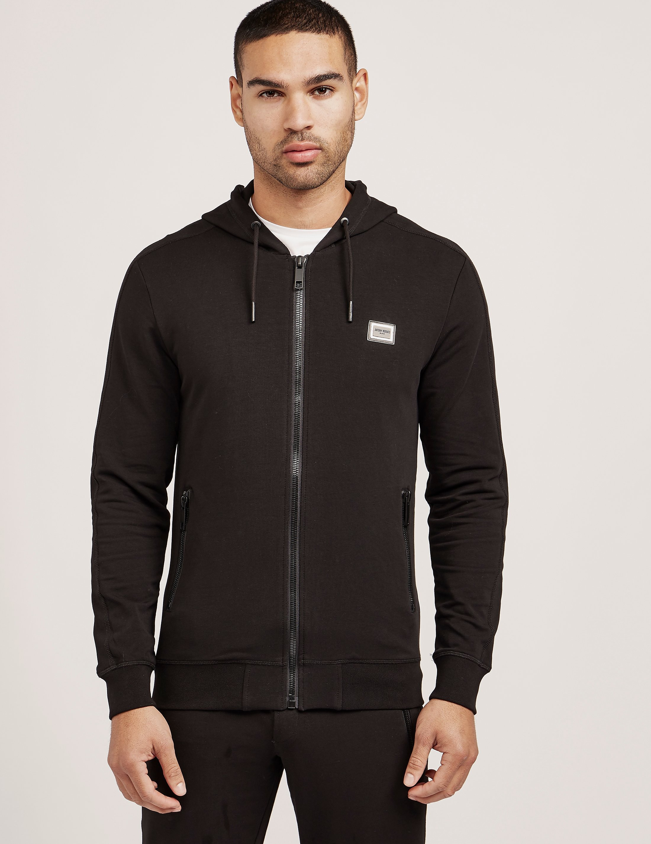 Antony Morato Plaque Zip Up Hoody
