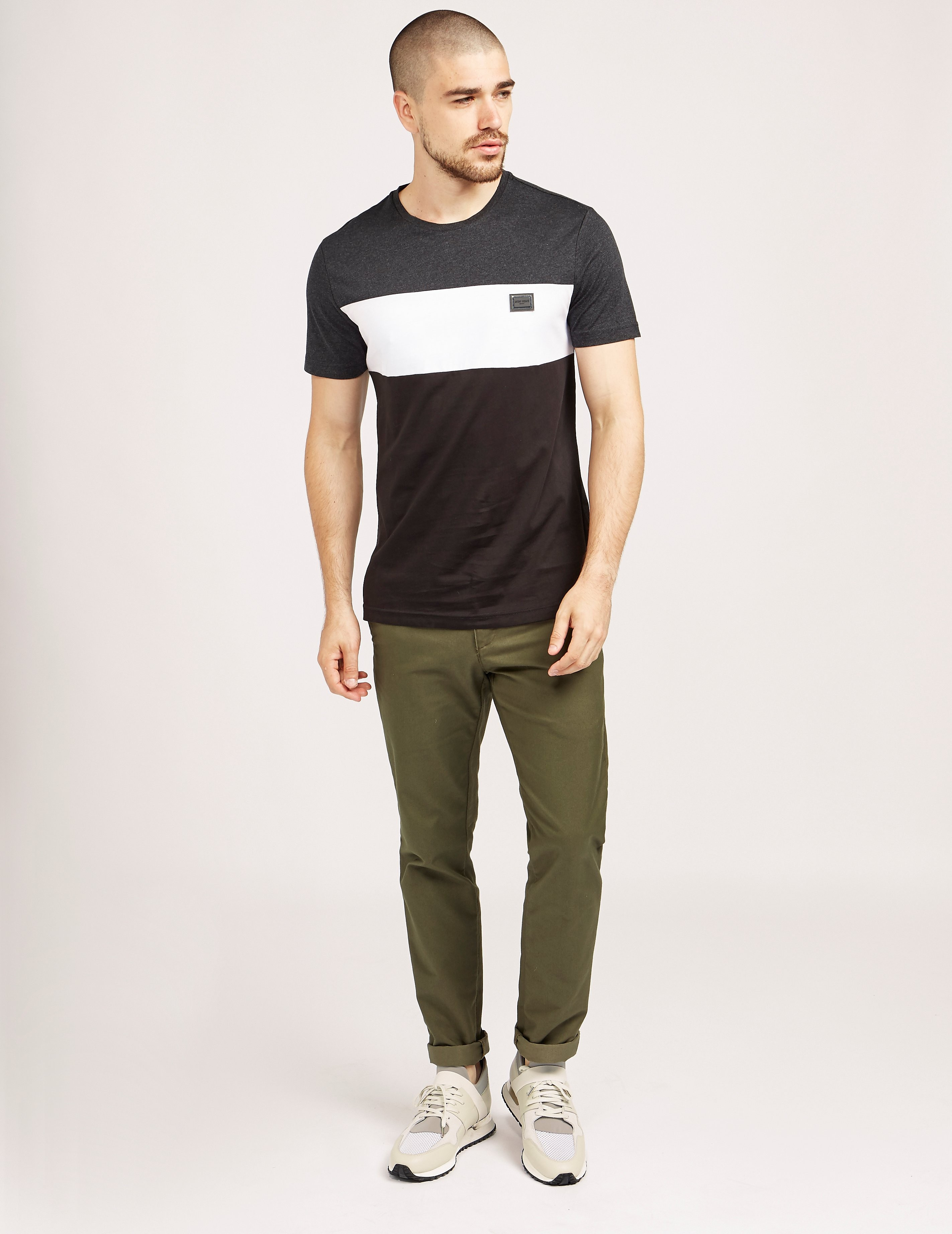 Antony Morato Panel Short Sleeve T-Shirt