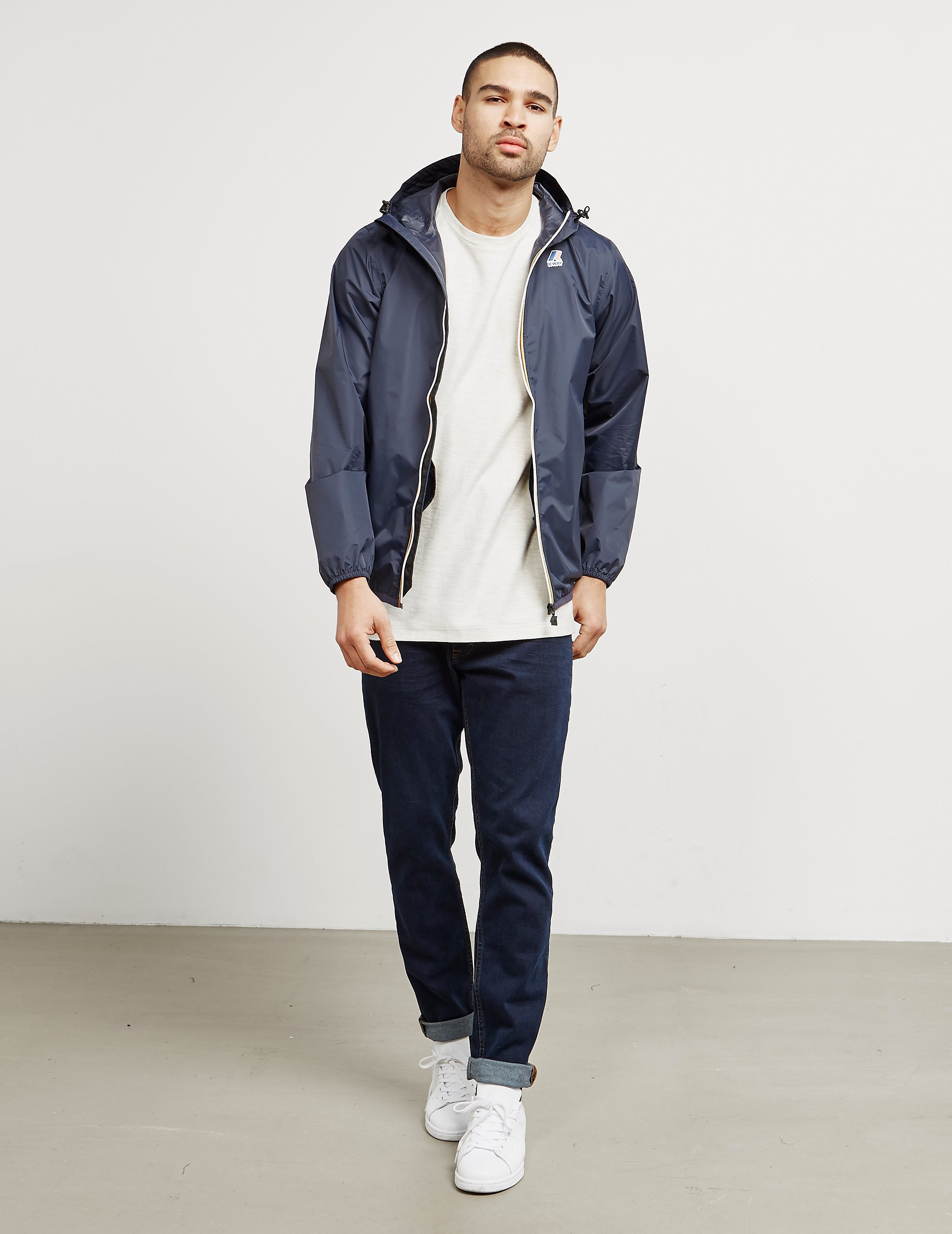 K-Way Claude Zip Up Lightweight Jacket