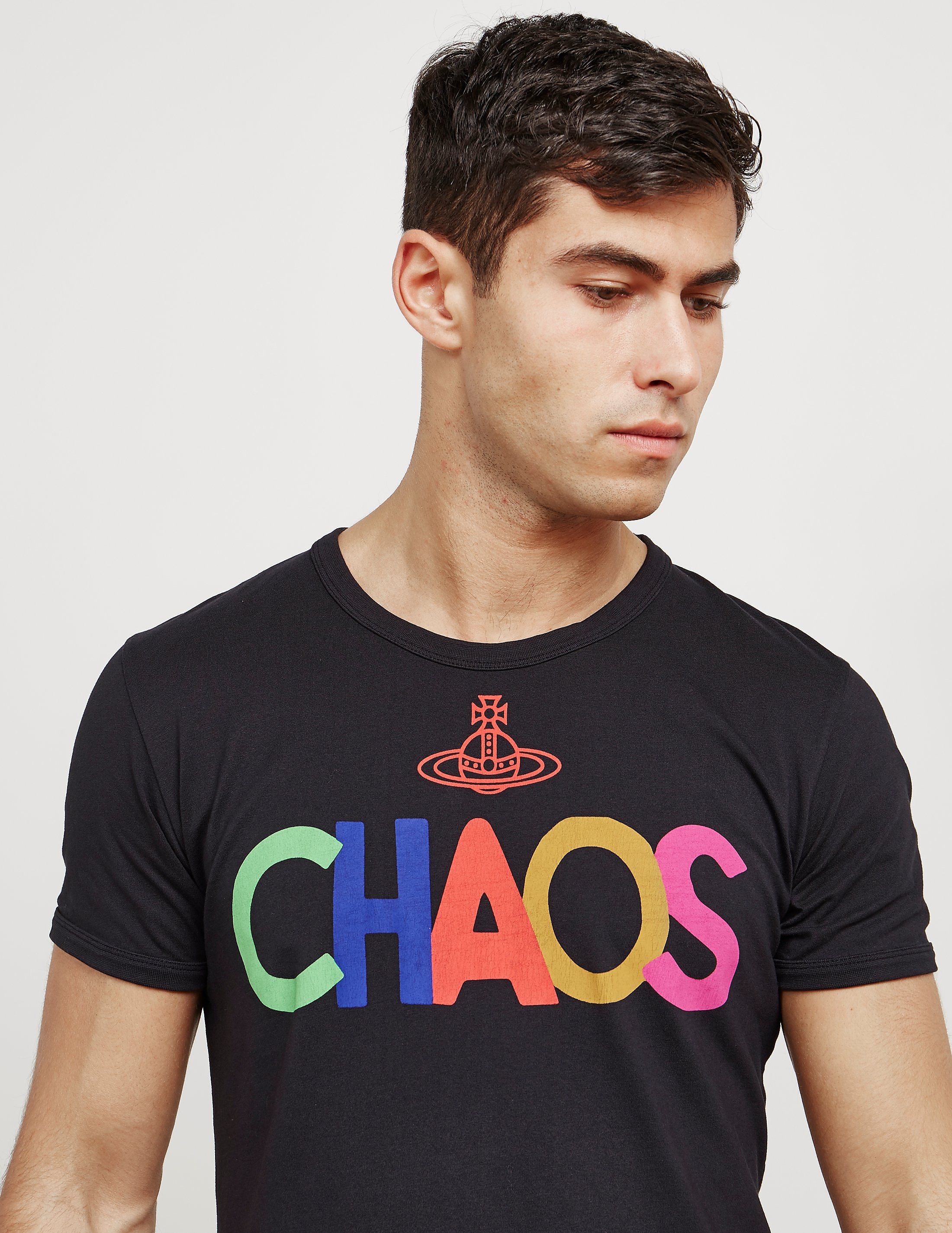 Vivienne Westwood Anglomania Chaos Short Sleeve T-Shirt