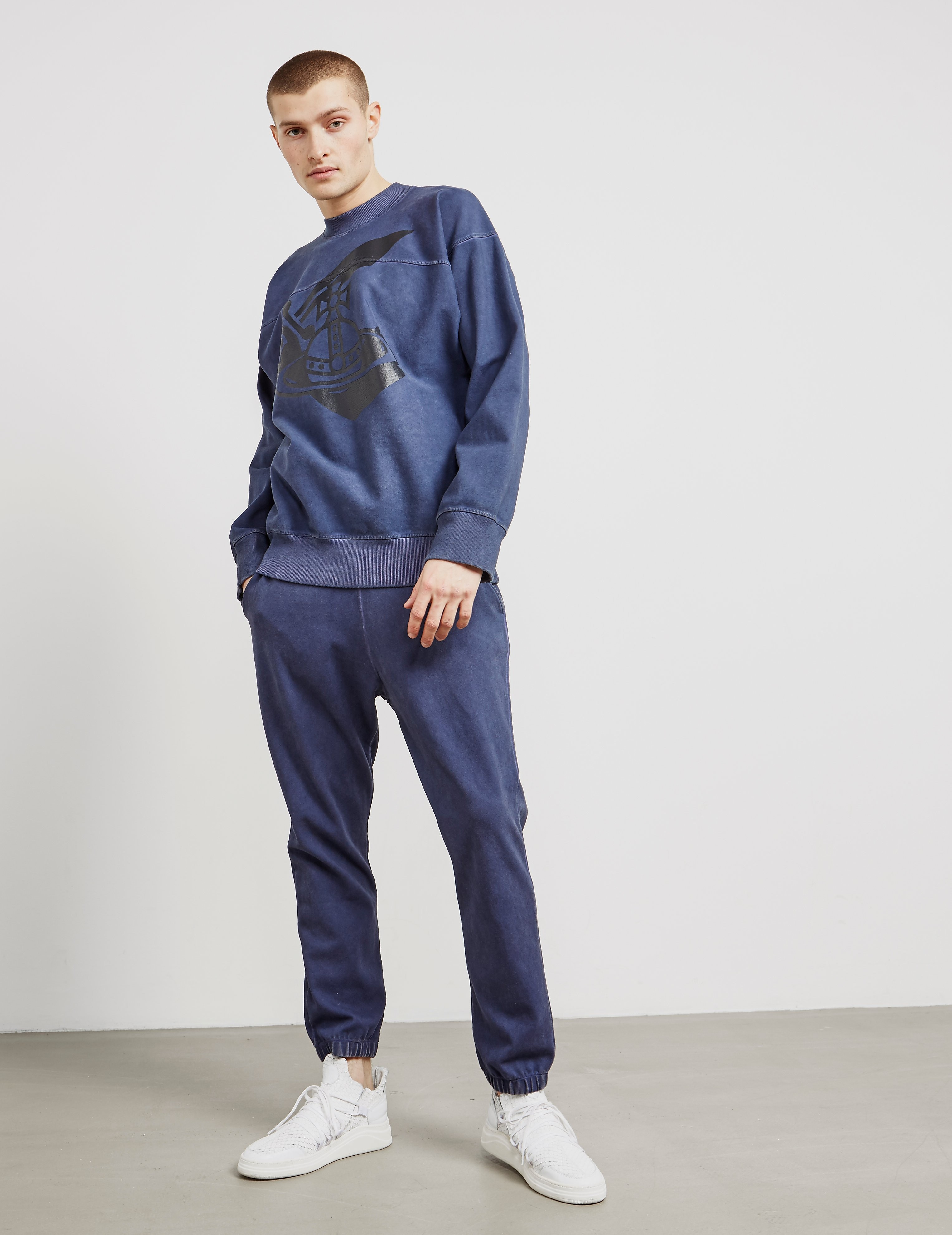Vivienne Westwood Anglomania Sword Cuffed Track Pants