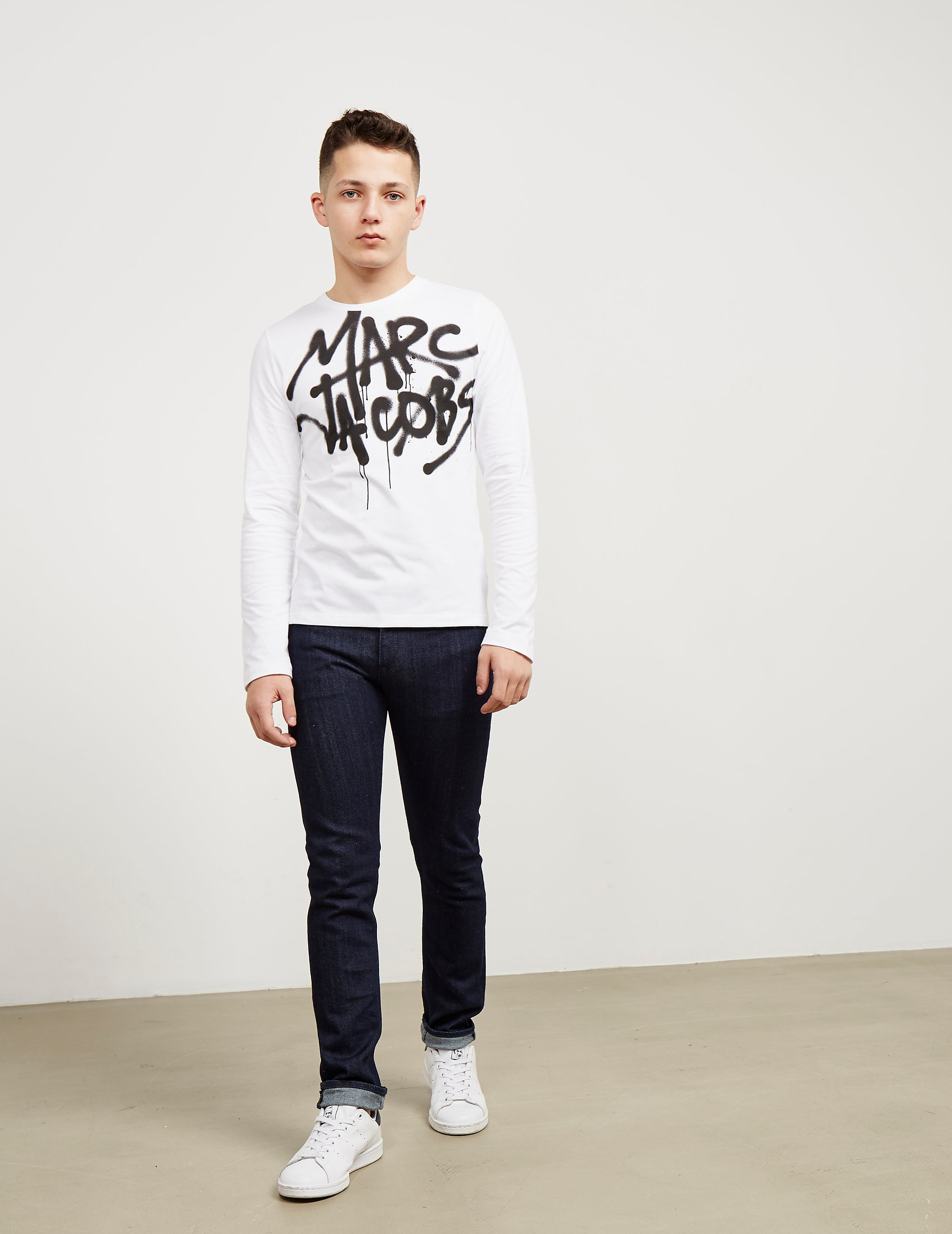 Little Marc Jacobs Graffiti Long Sleeve T-Shirt