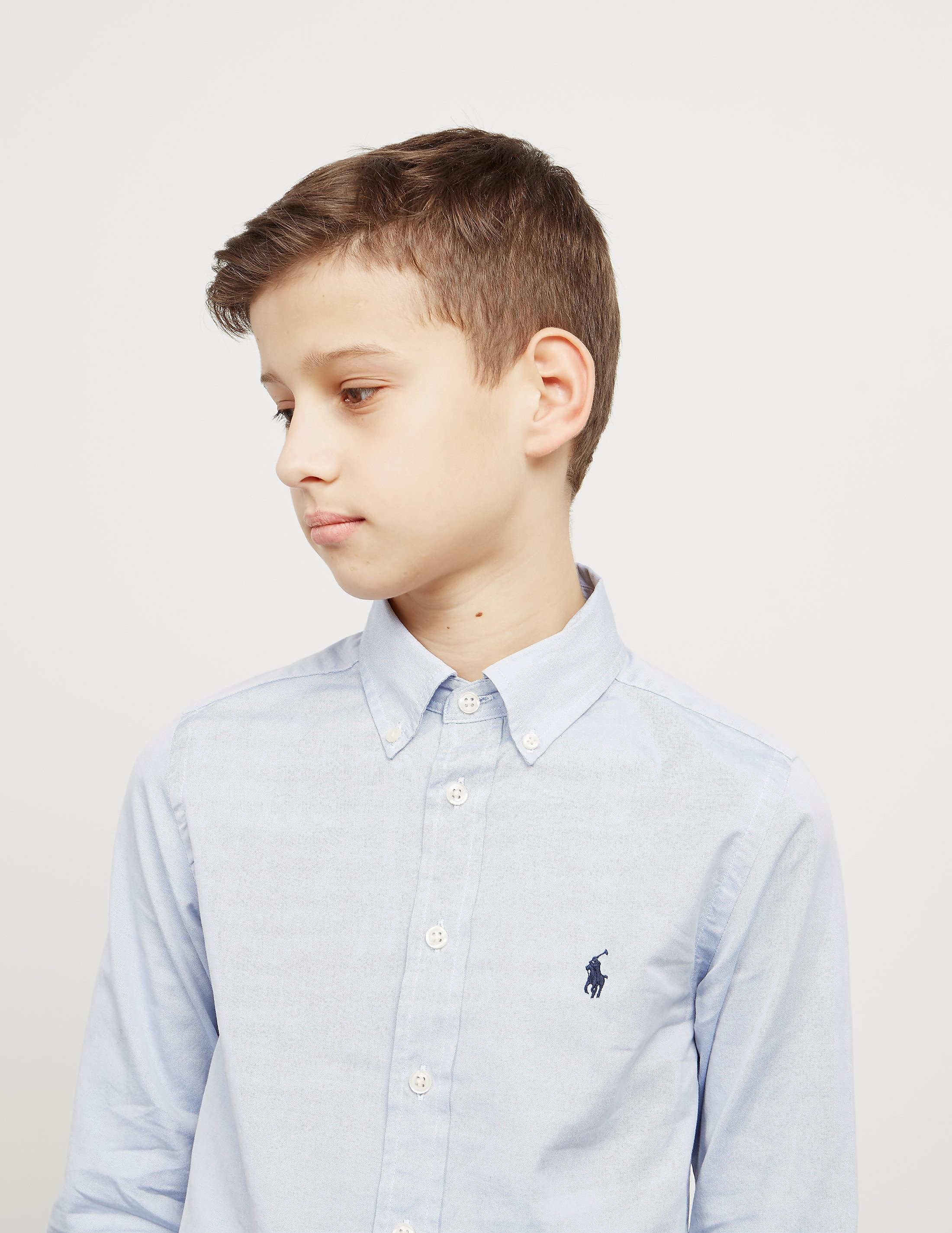 Polo Ralph Lauren Cuffed Poplin Shirt