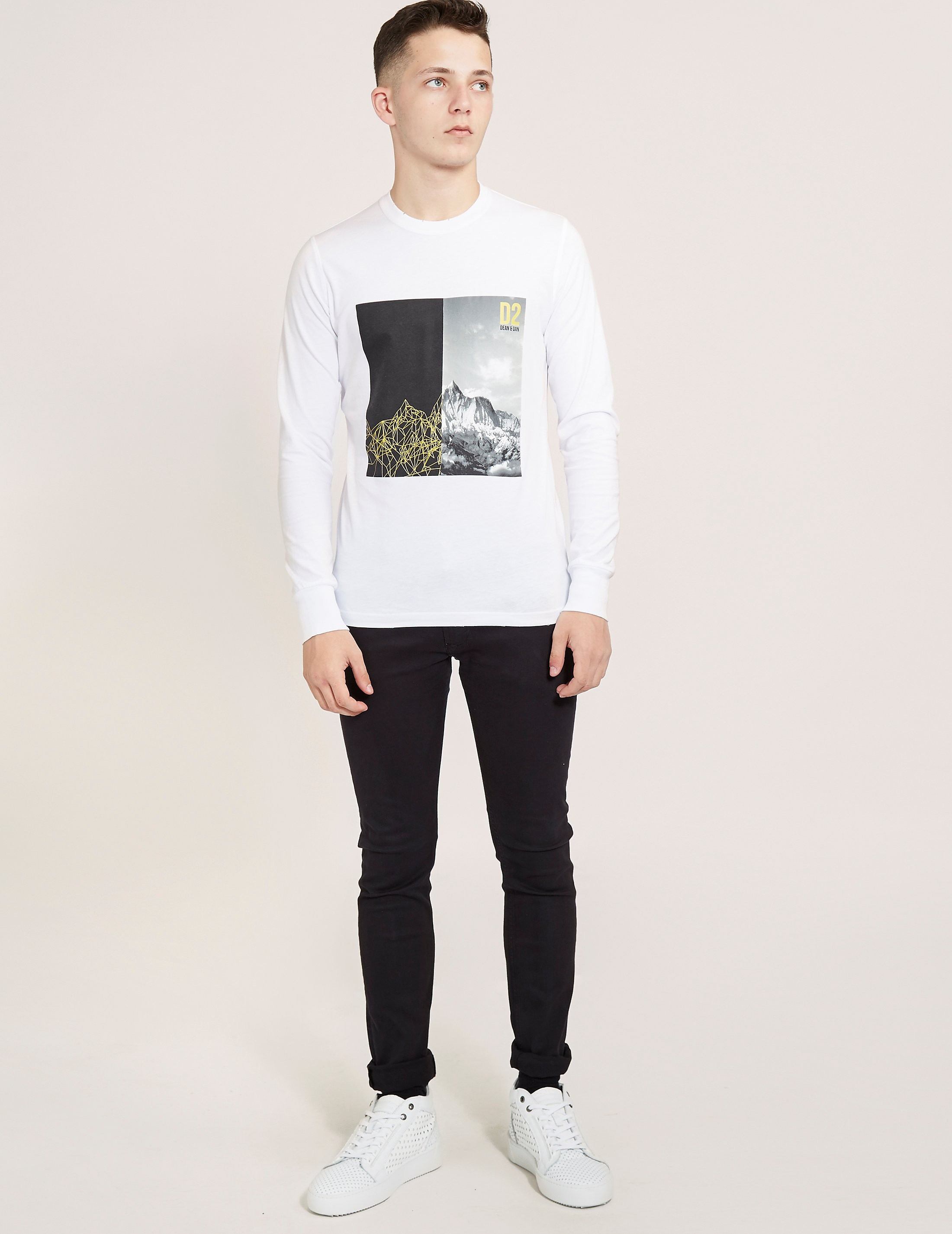 DSQUARED2 Mountain Long Sleeve T-Shirt