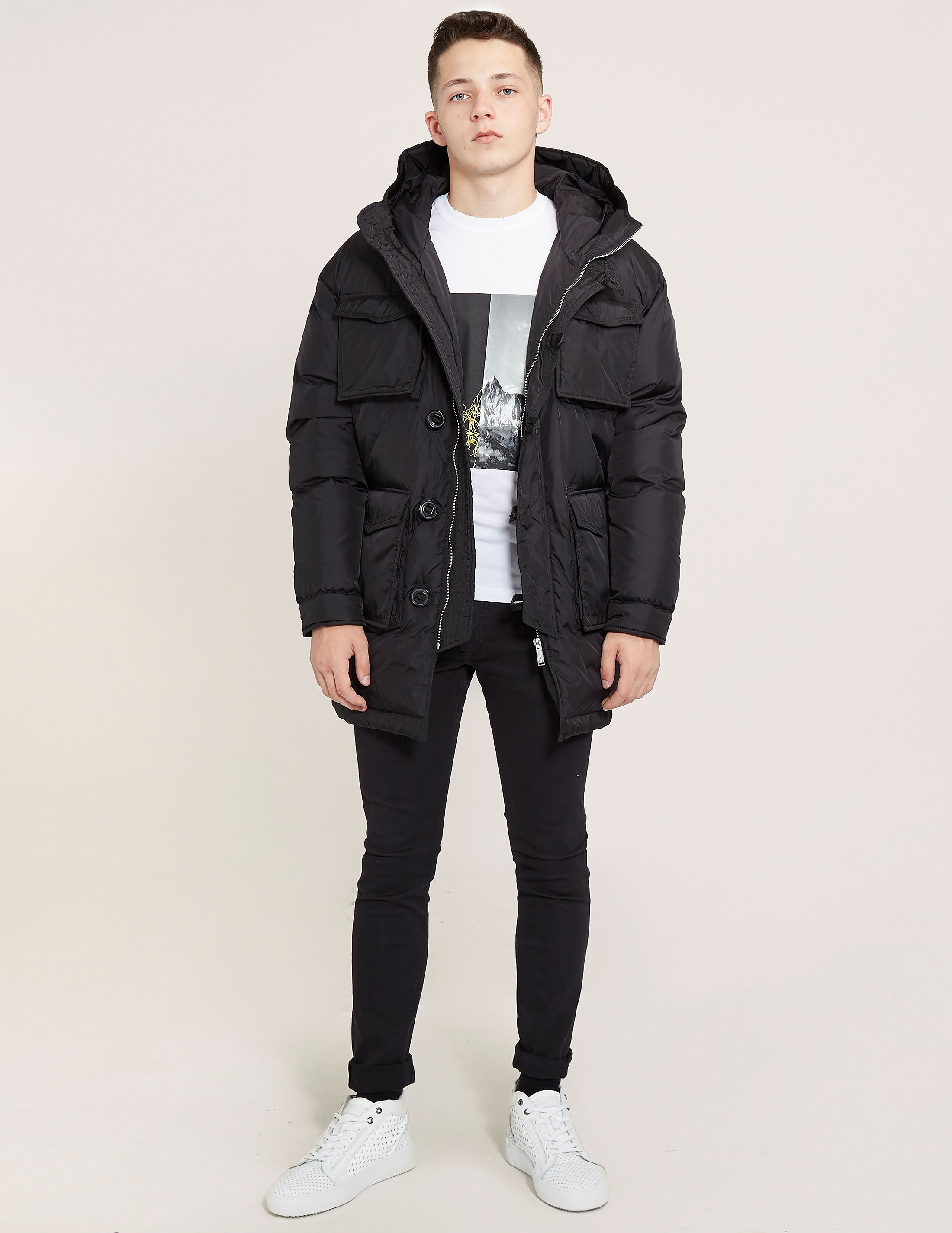 DSQUARED2 4 Pocket Padded Jacket
