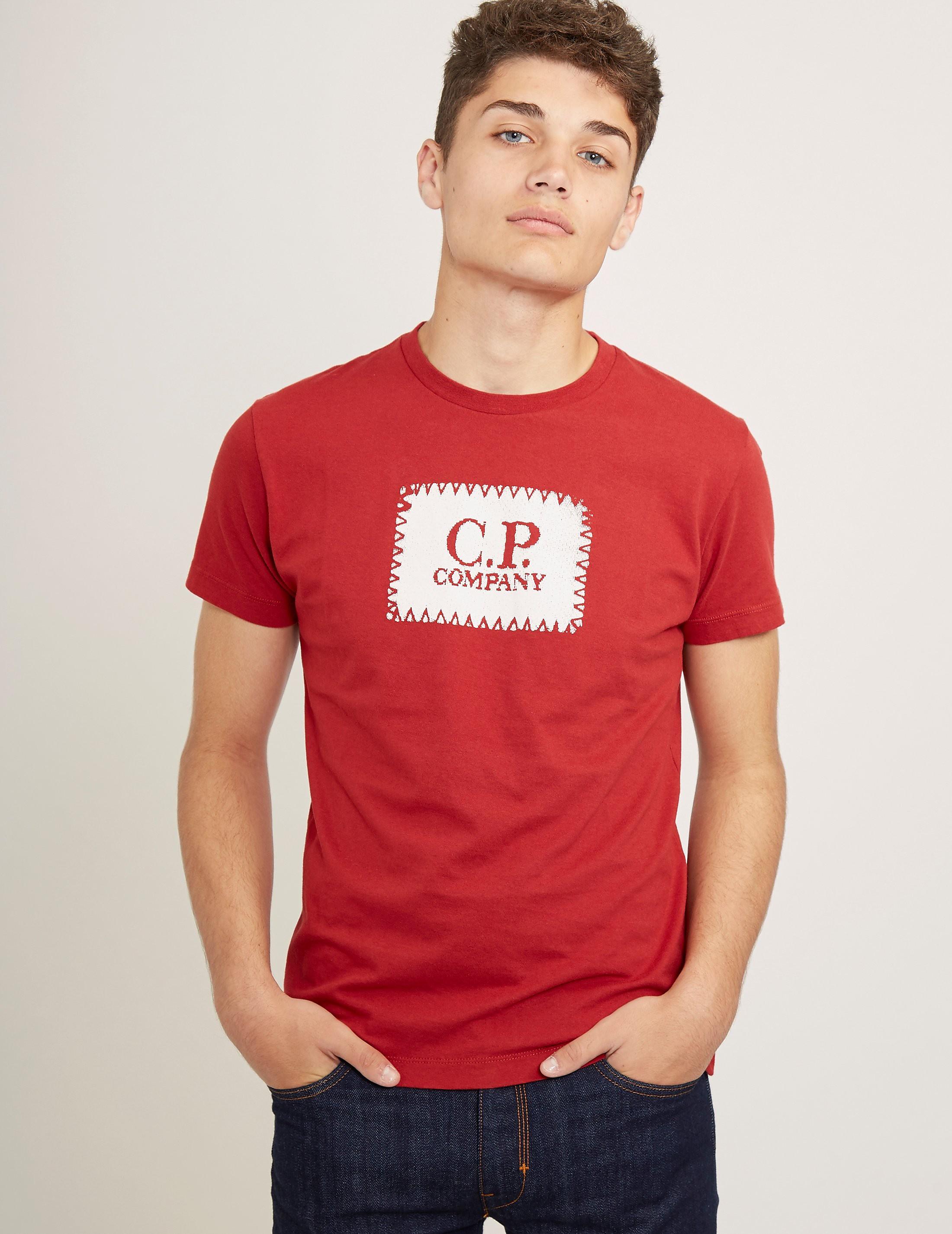 CP Company Short Sleeve Logo T-Shirt