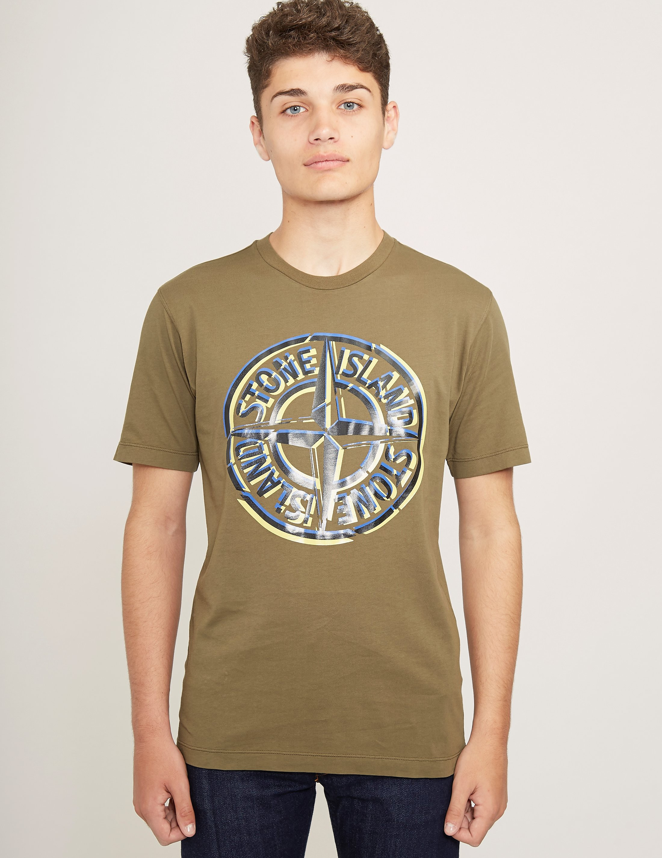 Stone Island Pin Short Sleeve T-Shirt