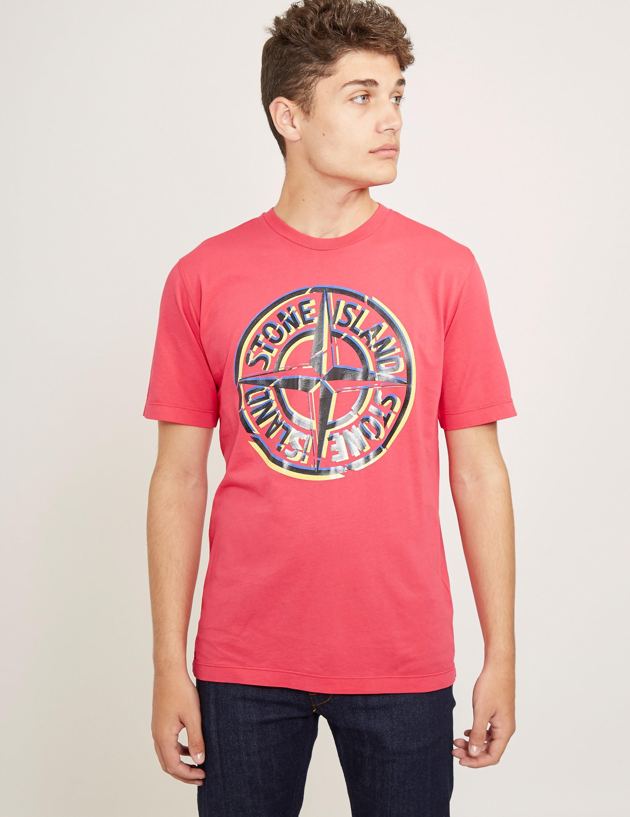 Stone Island Pin Short Sleeve T-Shirt