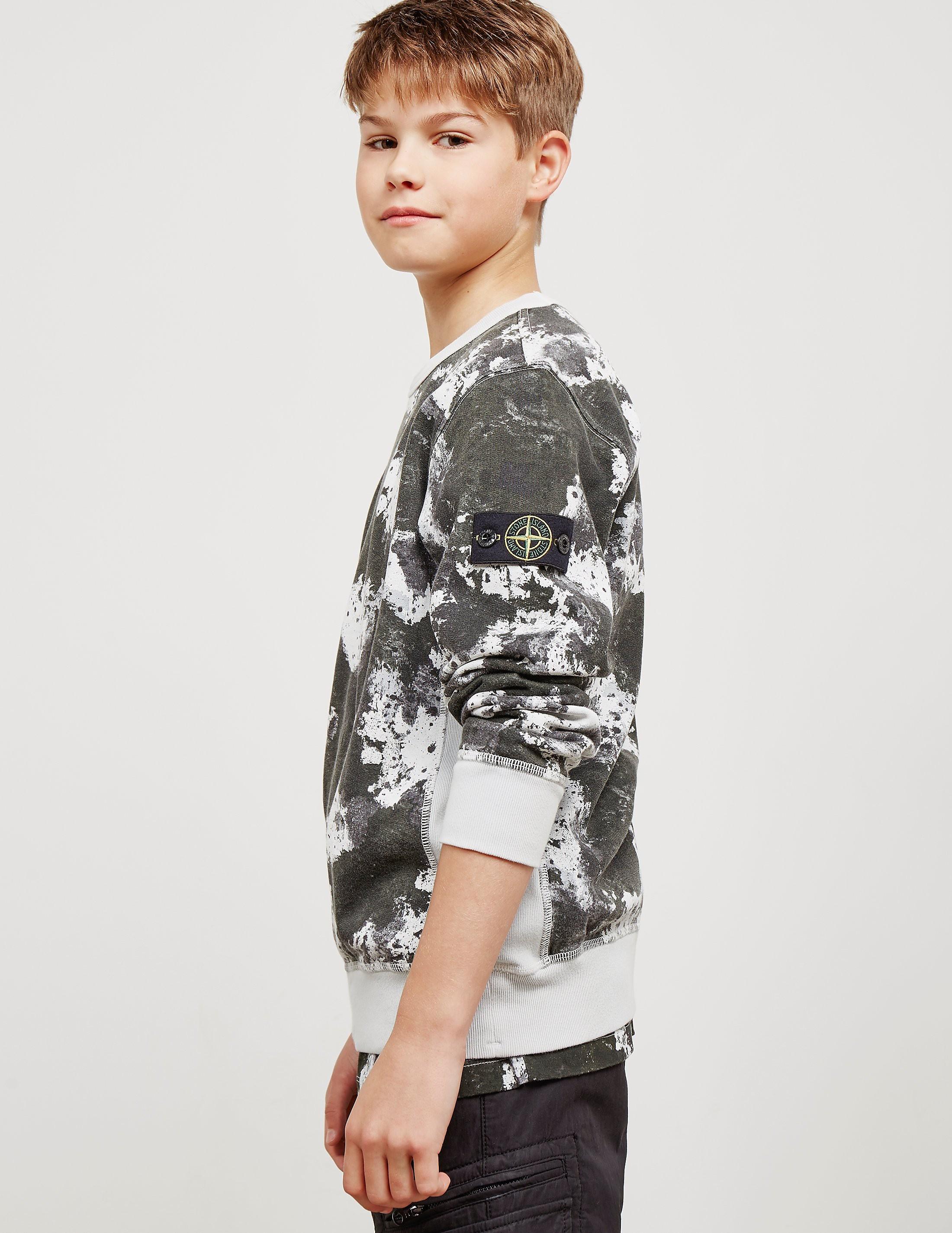 Stone Island Camouflage Sweatshirt