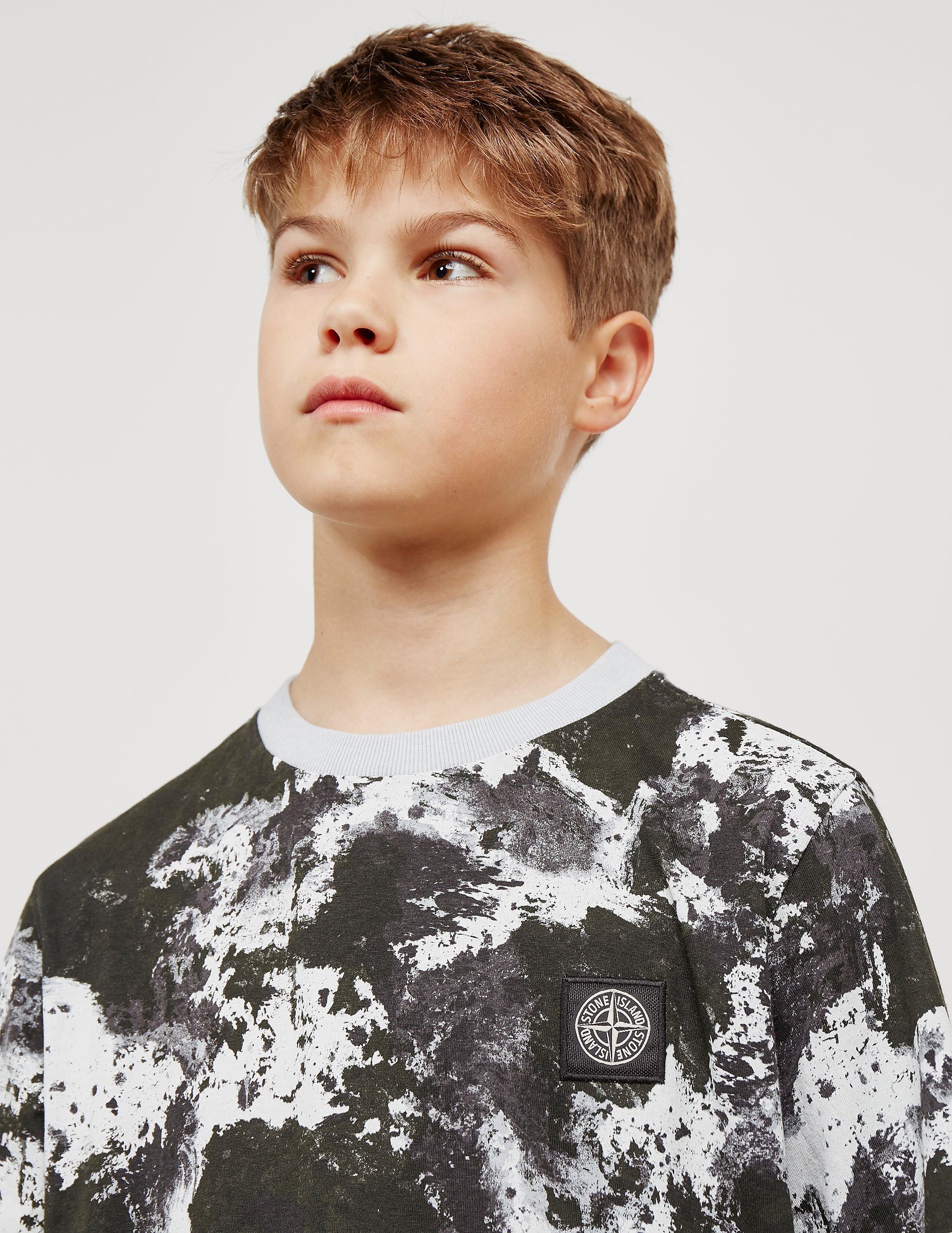 Stone Island Short Sleeve Camouflage T-Shirt