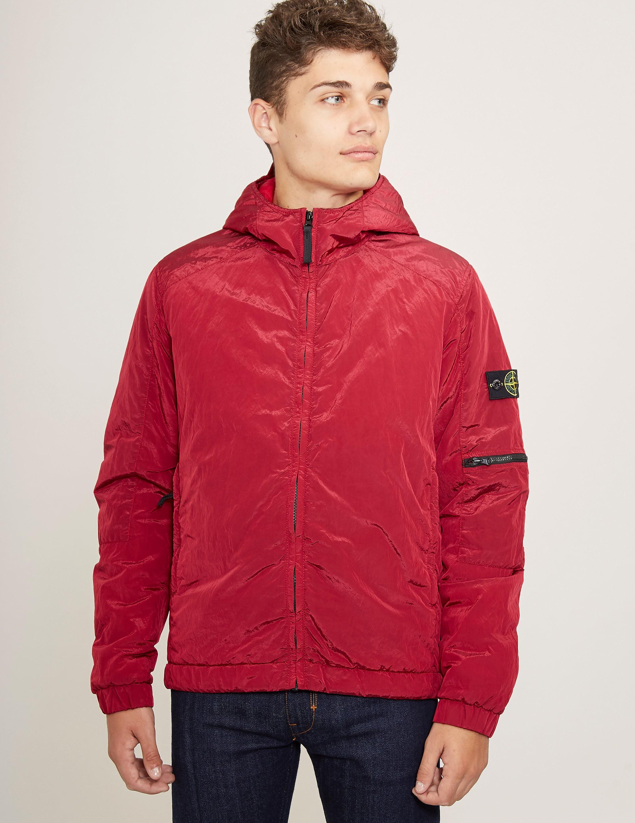 Stone Island Nylon Metal Hooded Padded Jacket